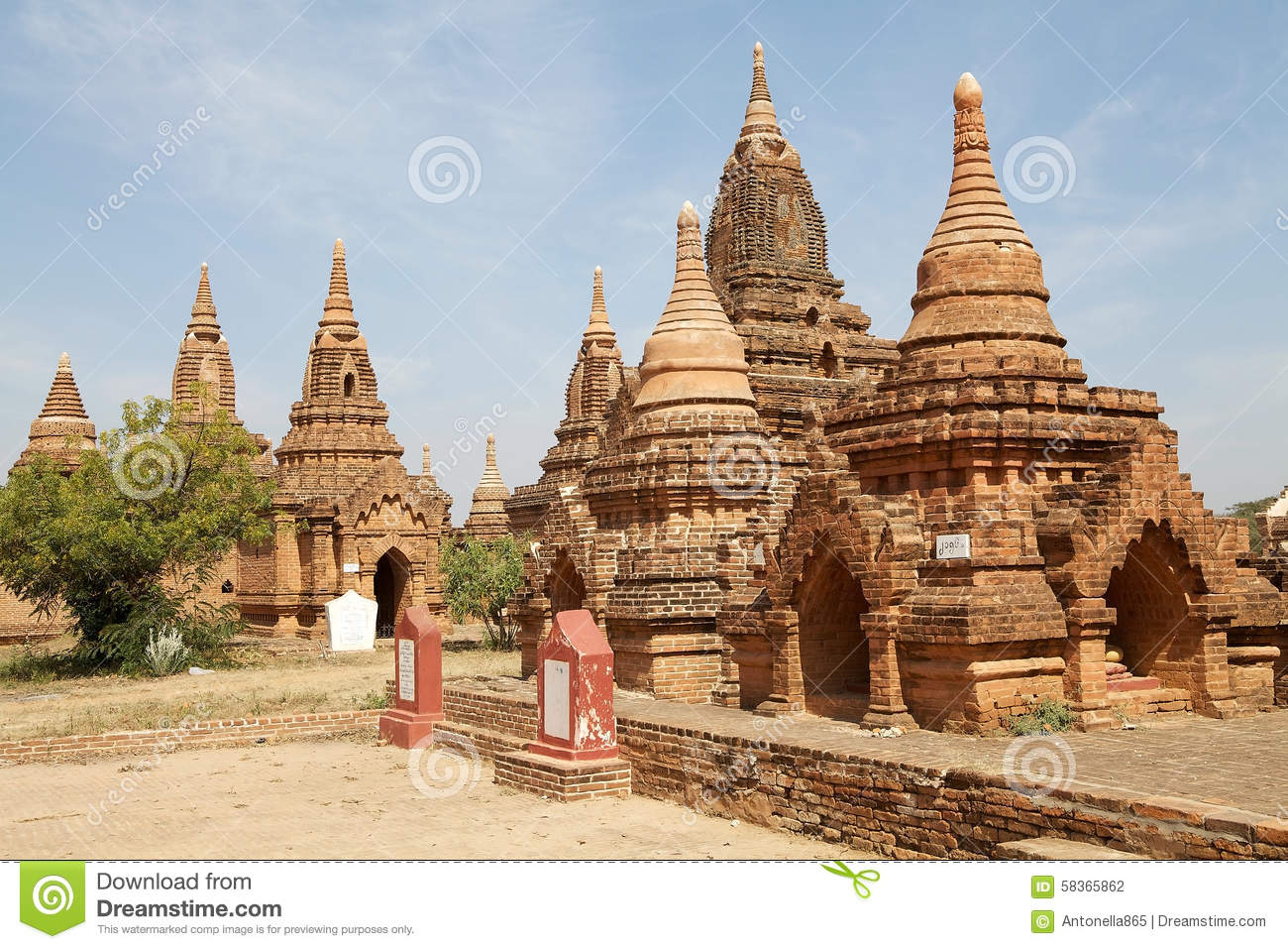 Ruins of Bagan, Myanmar
