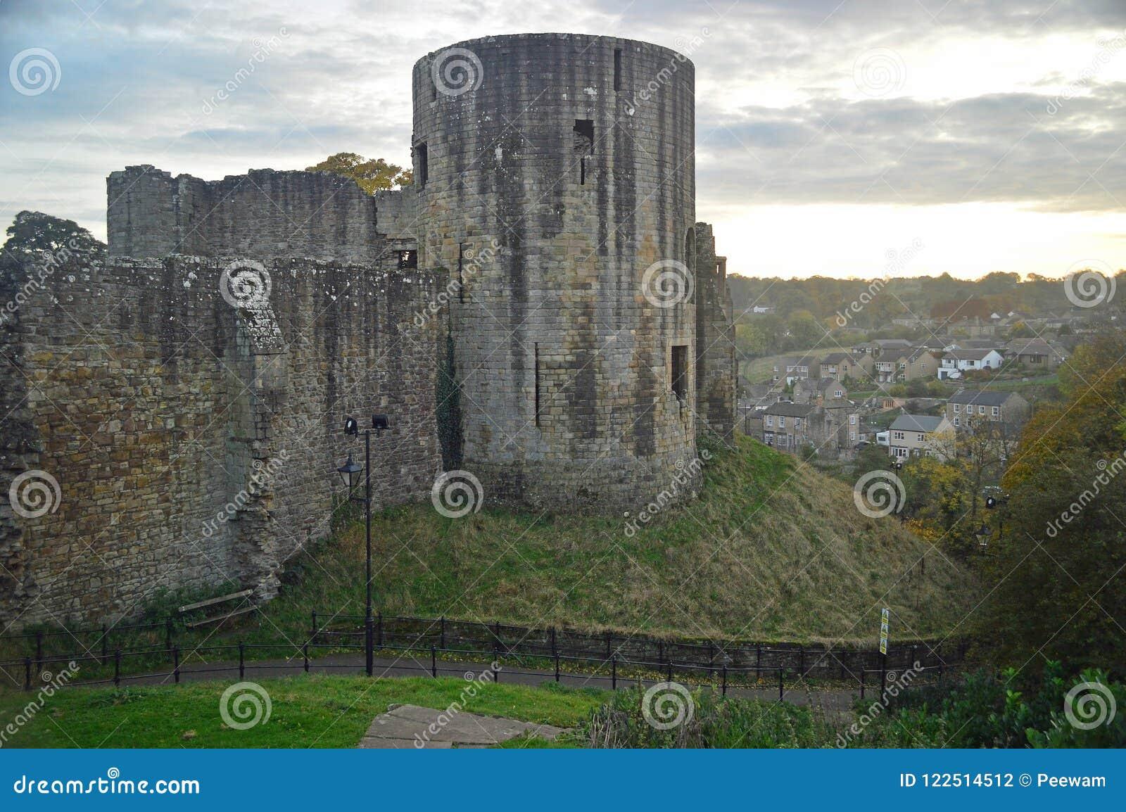 The ruins of Barnard Castle