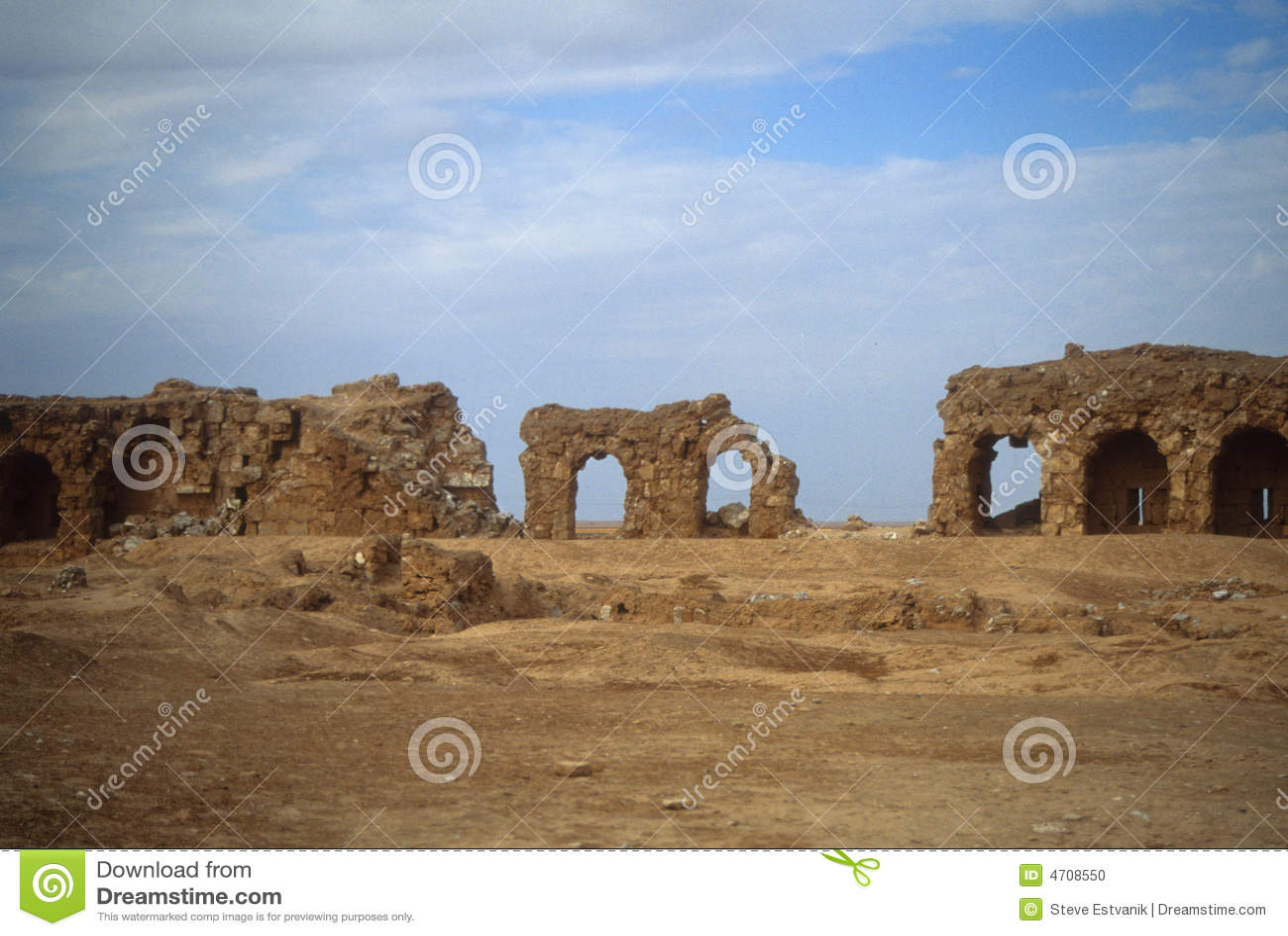 Ruins of city walls