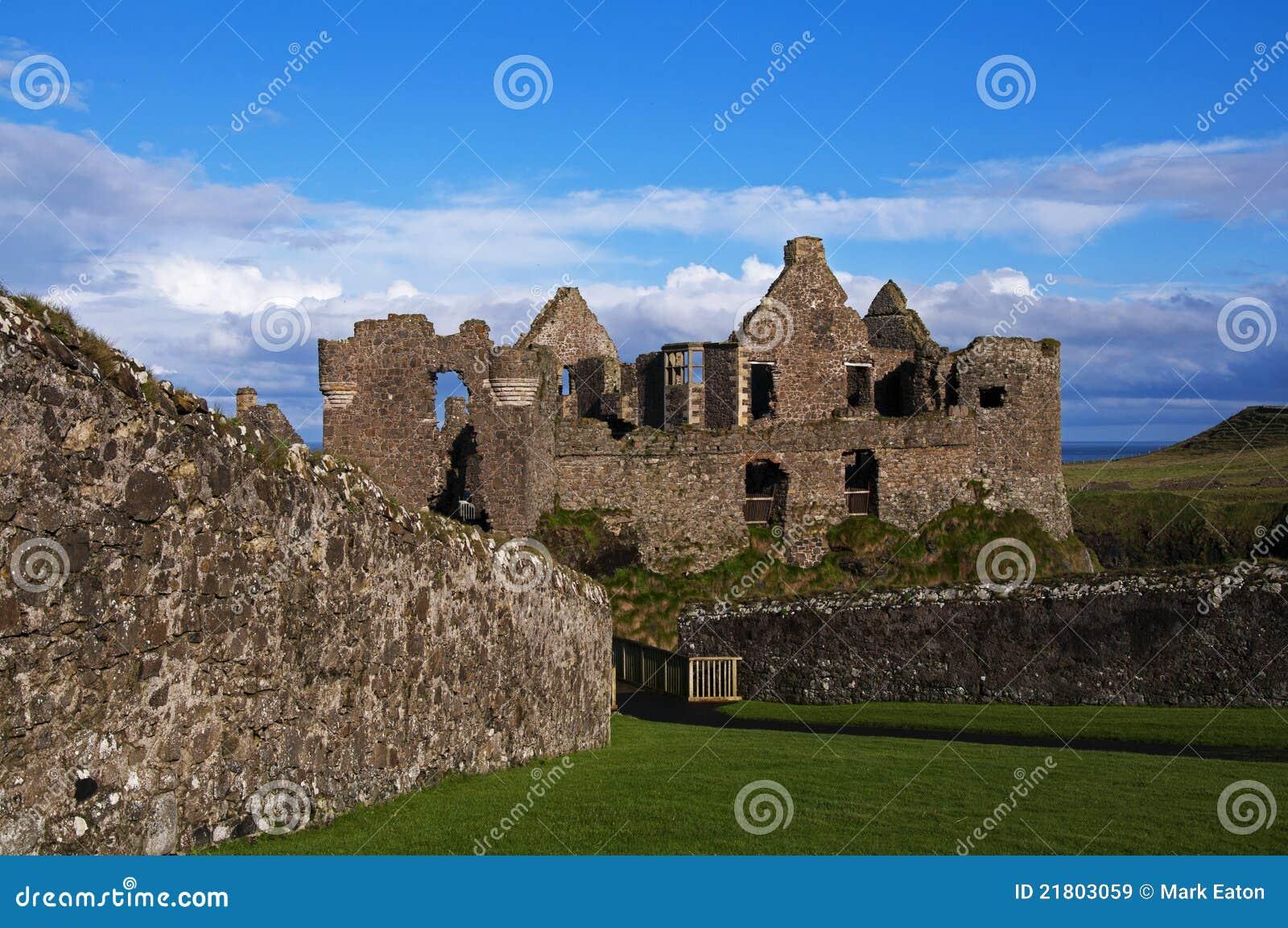 The Ruins of Dunluce Castle