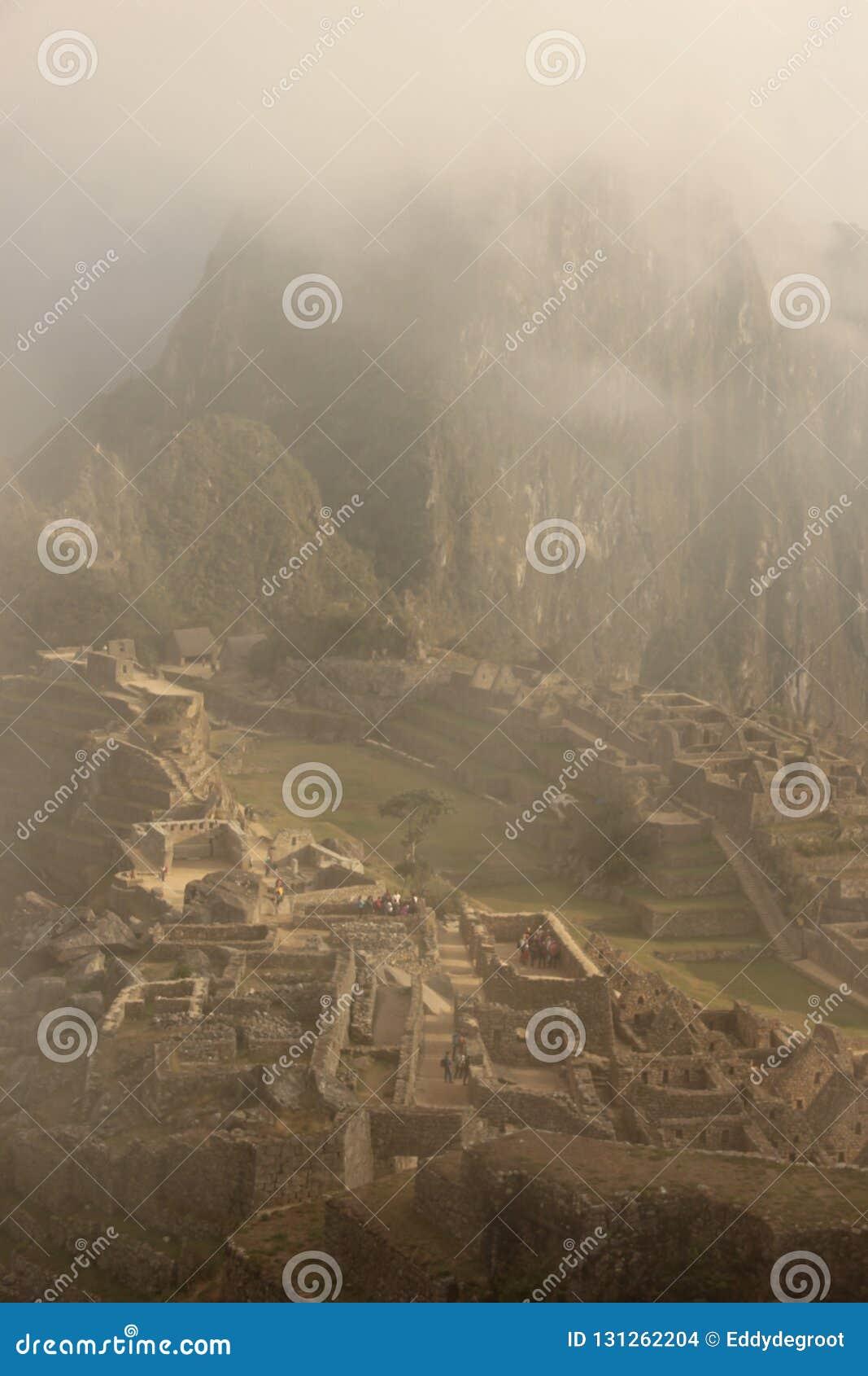 The ruins of Machu Picchu