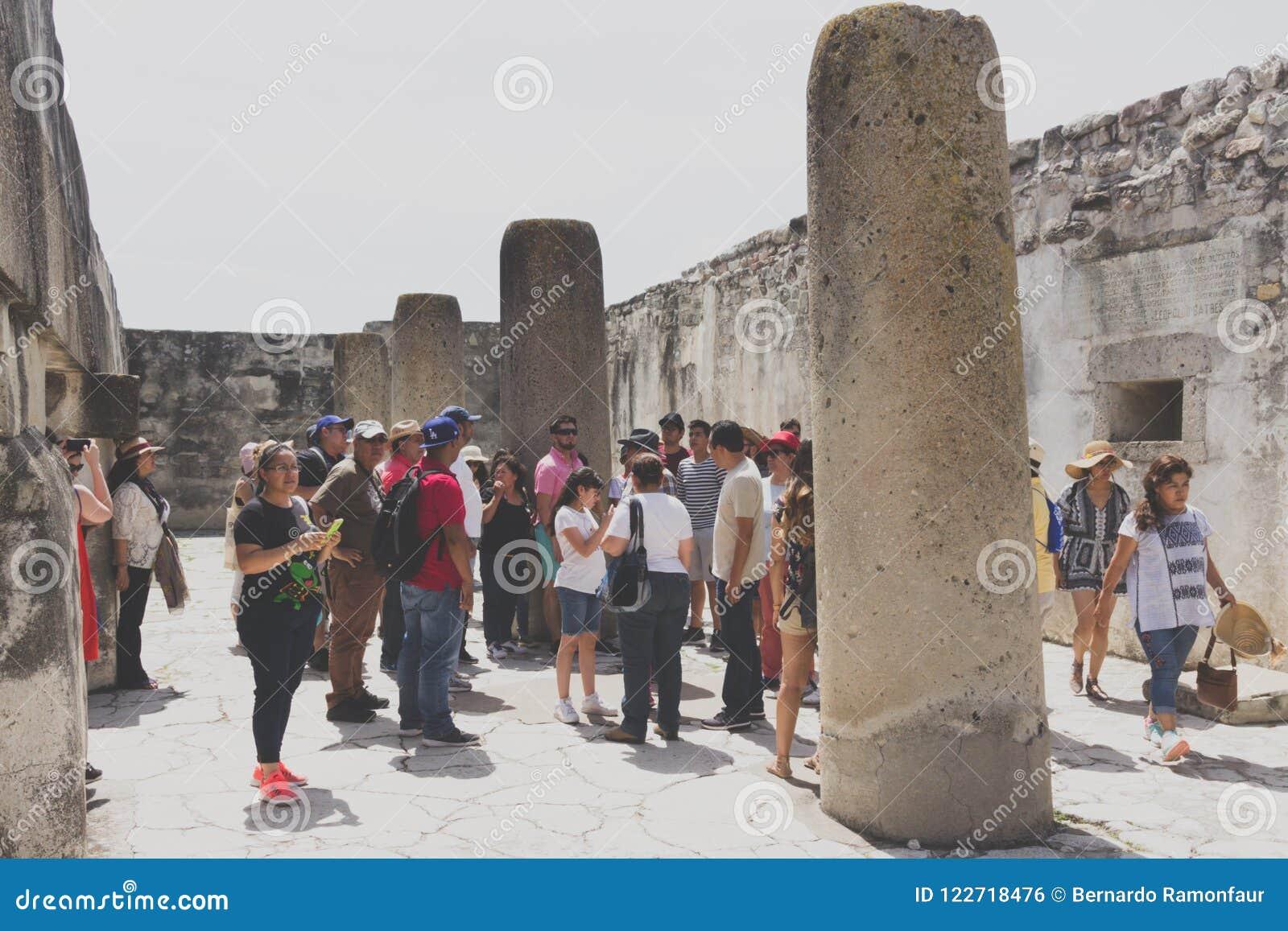 Ruins of Mitla in Oaxaca Mexico