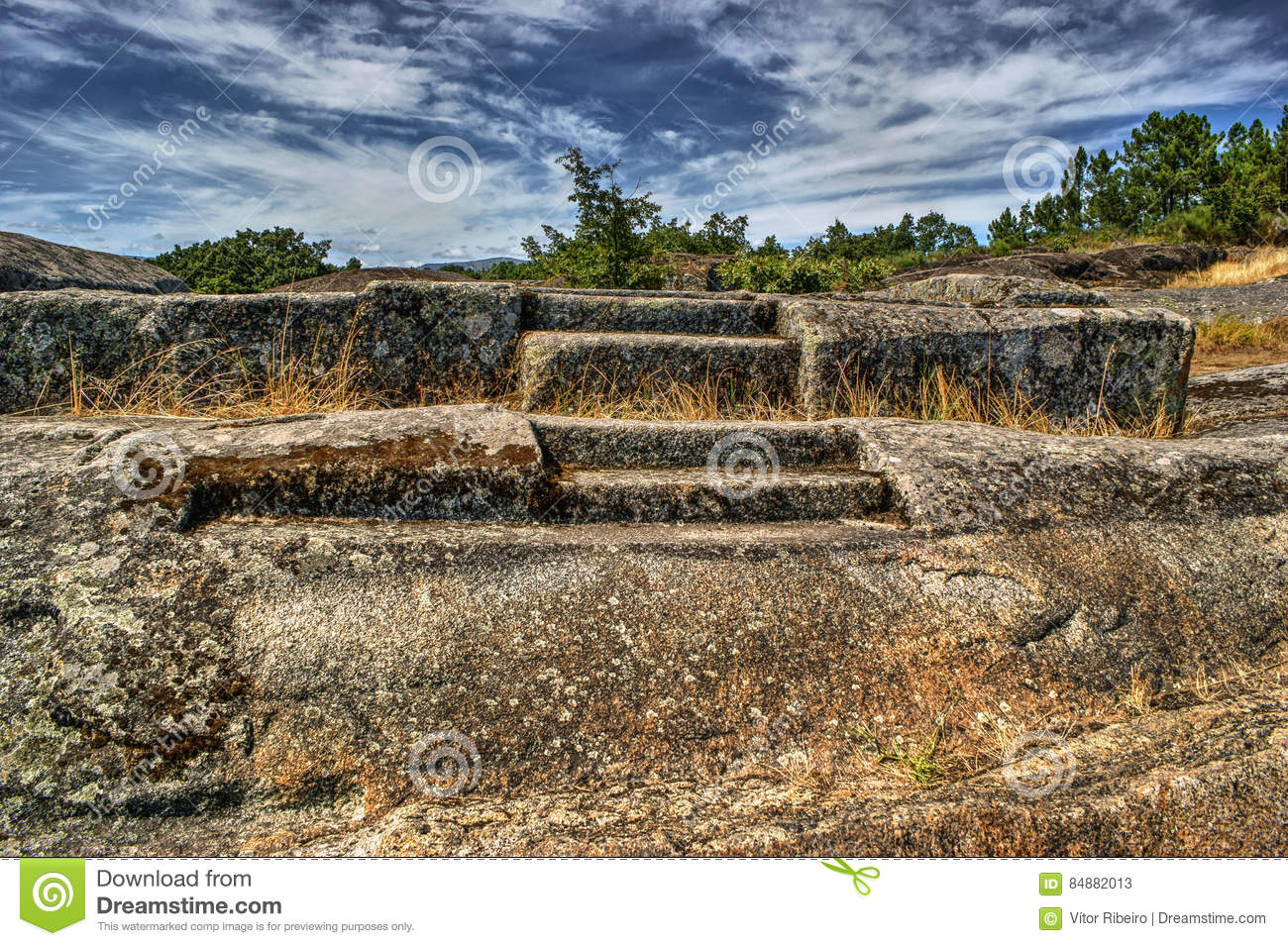Ruins of Panoias, an ancient roman temple