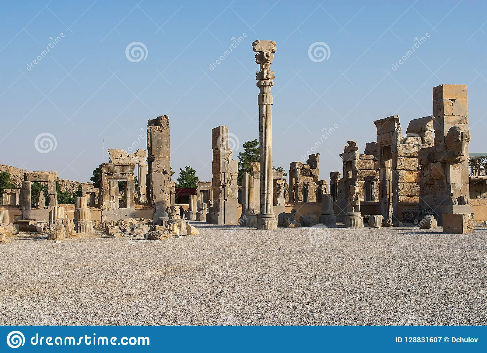 Ruins Of Persepolis In Shiraz Iran Editorial Photography Image Of Shiraz Iranian 128831607