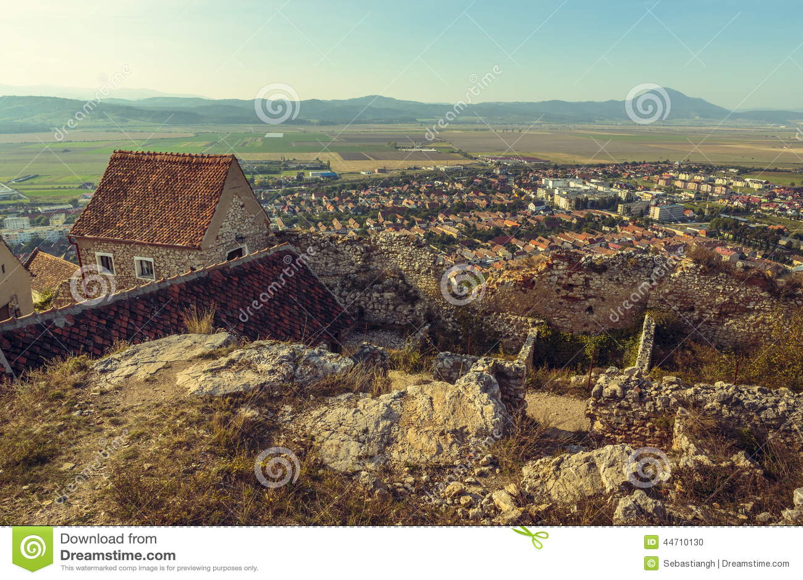 Ruins of Rasnov citadel