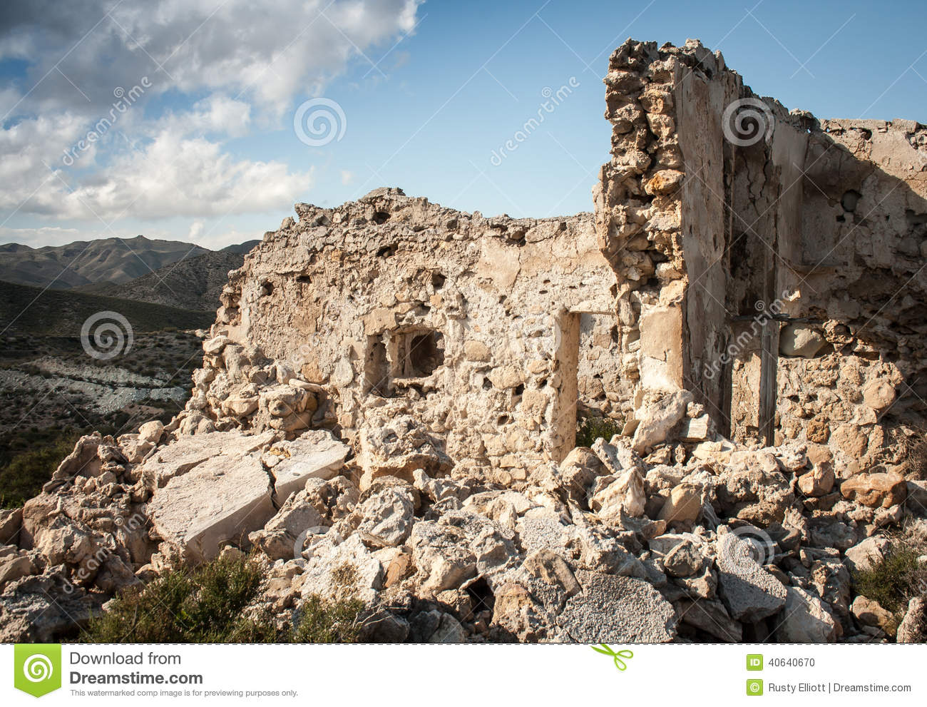 Ruins Of A Stone House...
