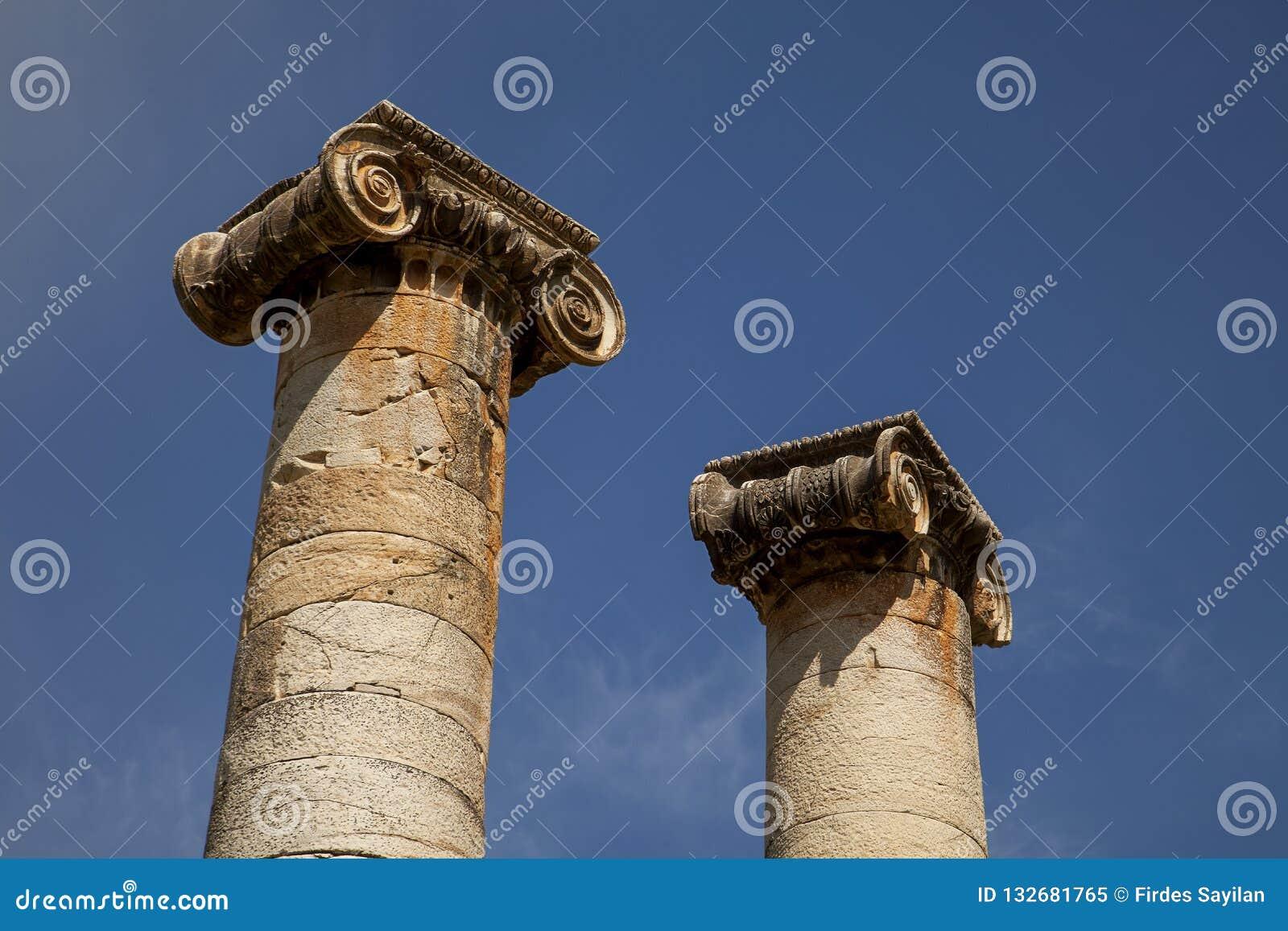 Sardis stock photo. Image of lydia, architecture