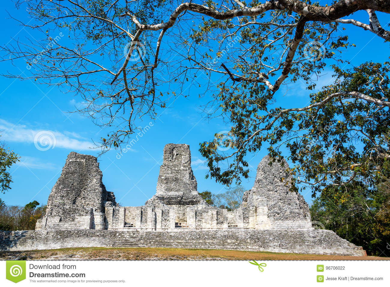 Ruins of Xpujil, Mexico