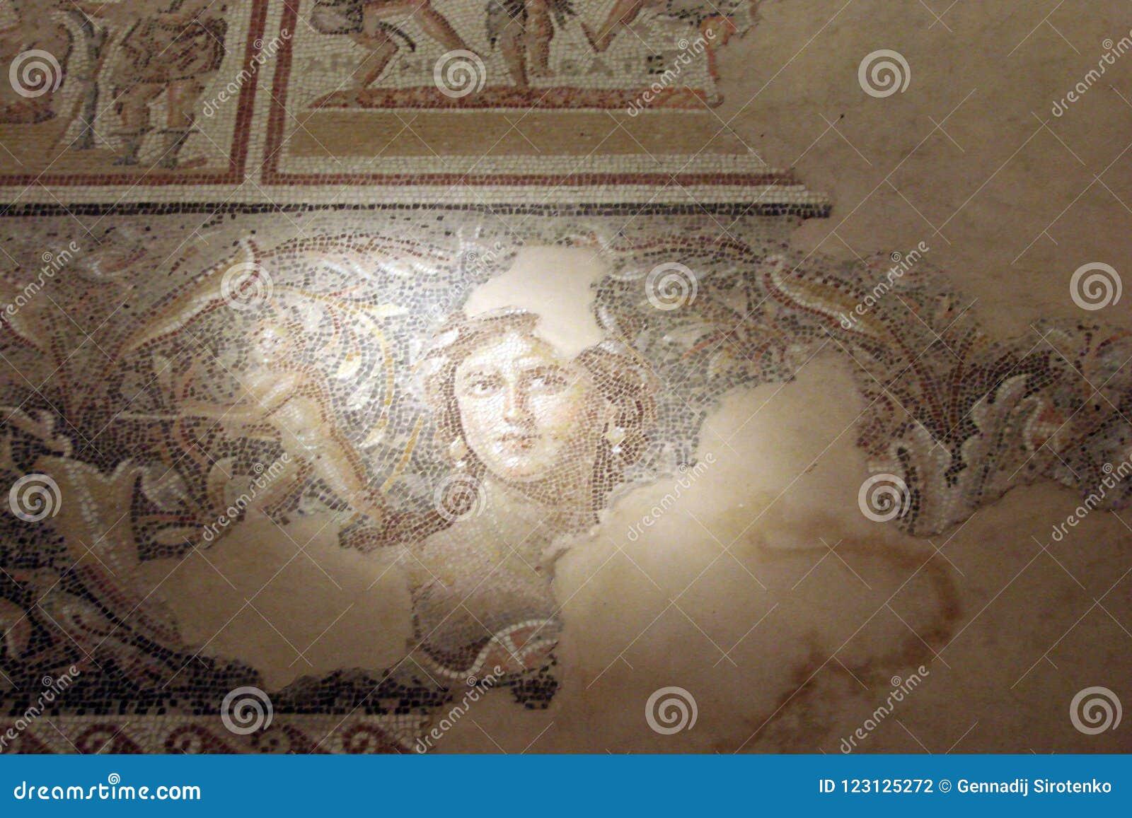 Ruiny antyczni miasteczka imperium rzymskie Beth Shearim i Zippori Izrael