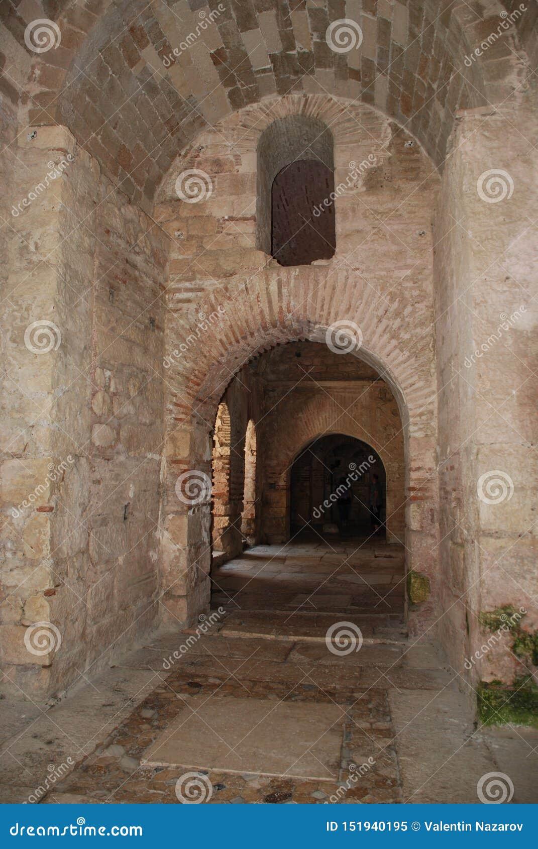 Ruiny antyczny miasto w Turcja blisko Antalya