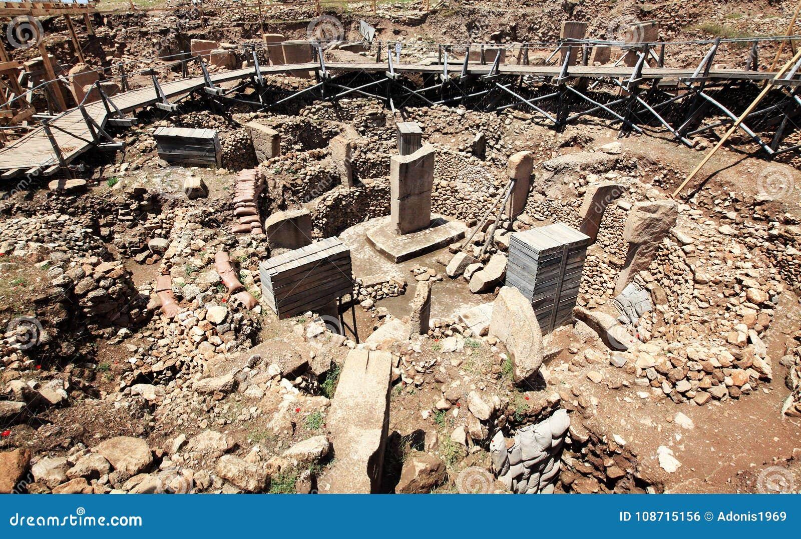 Ruiny Gobekli Tepe