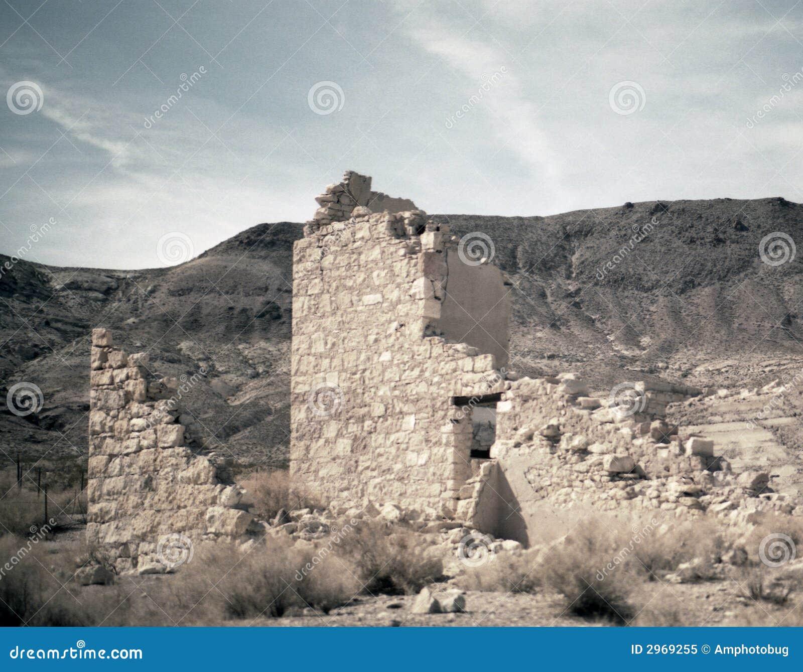 Ruiny pustyni