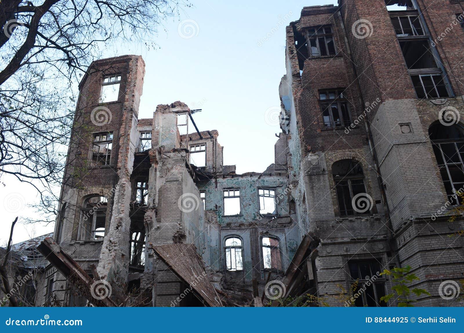 Ruiny stary szpital