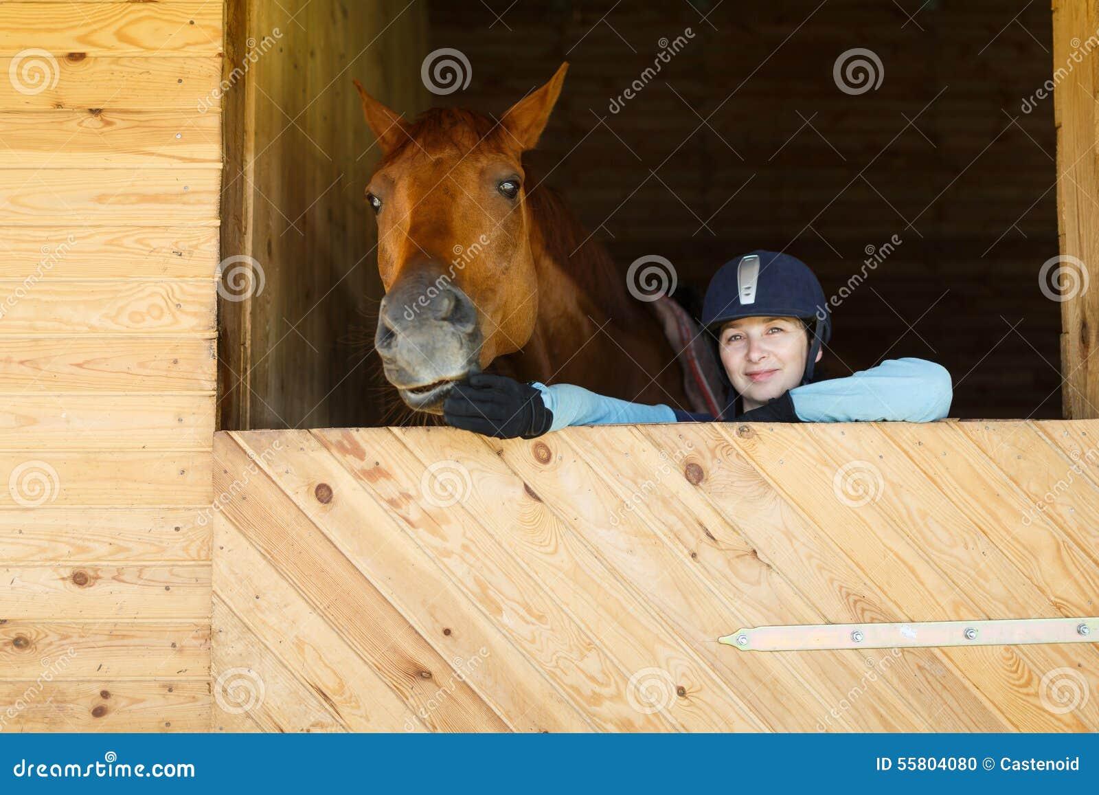 Ruiter met een paard