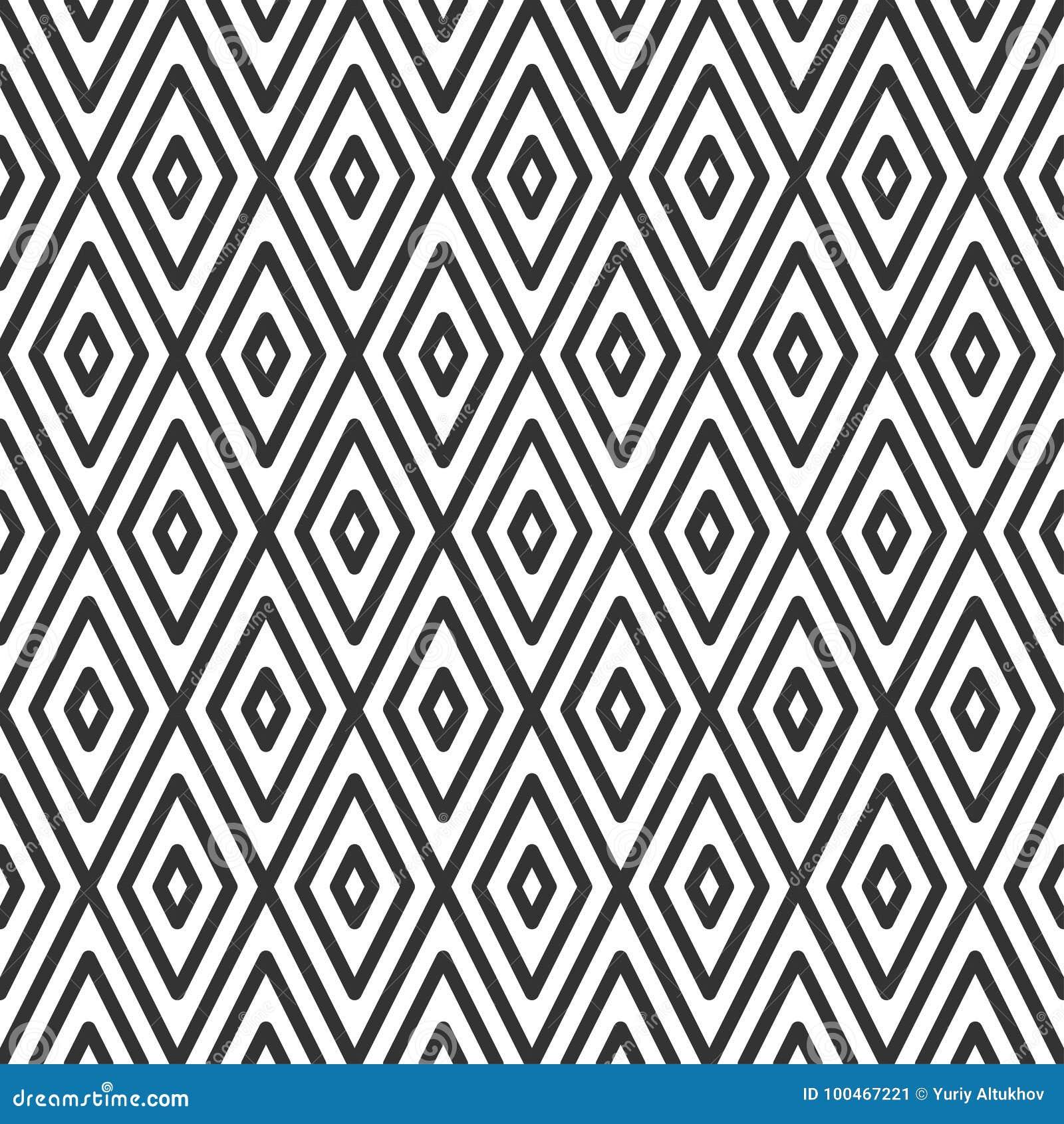 7022262cd69c65 Ruitvormige Tegel Geometrisch Naadloos Patroon Vector Illustratie ...