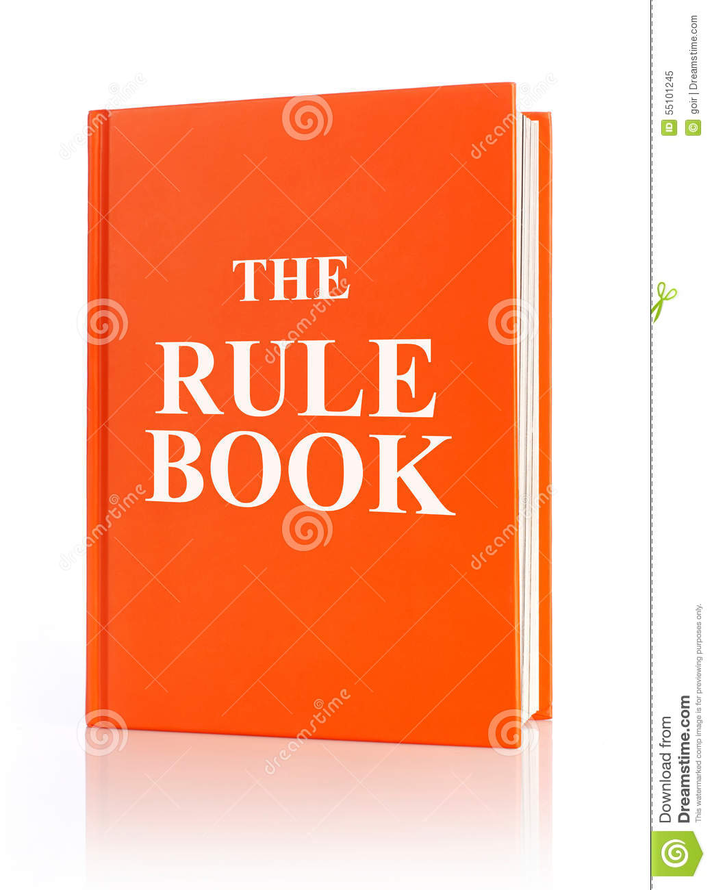 how to make a rule book