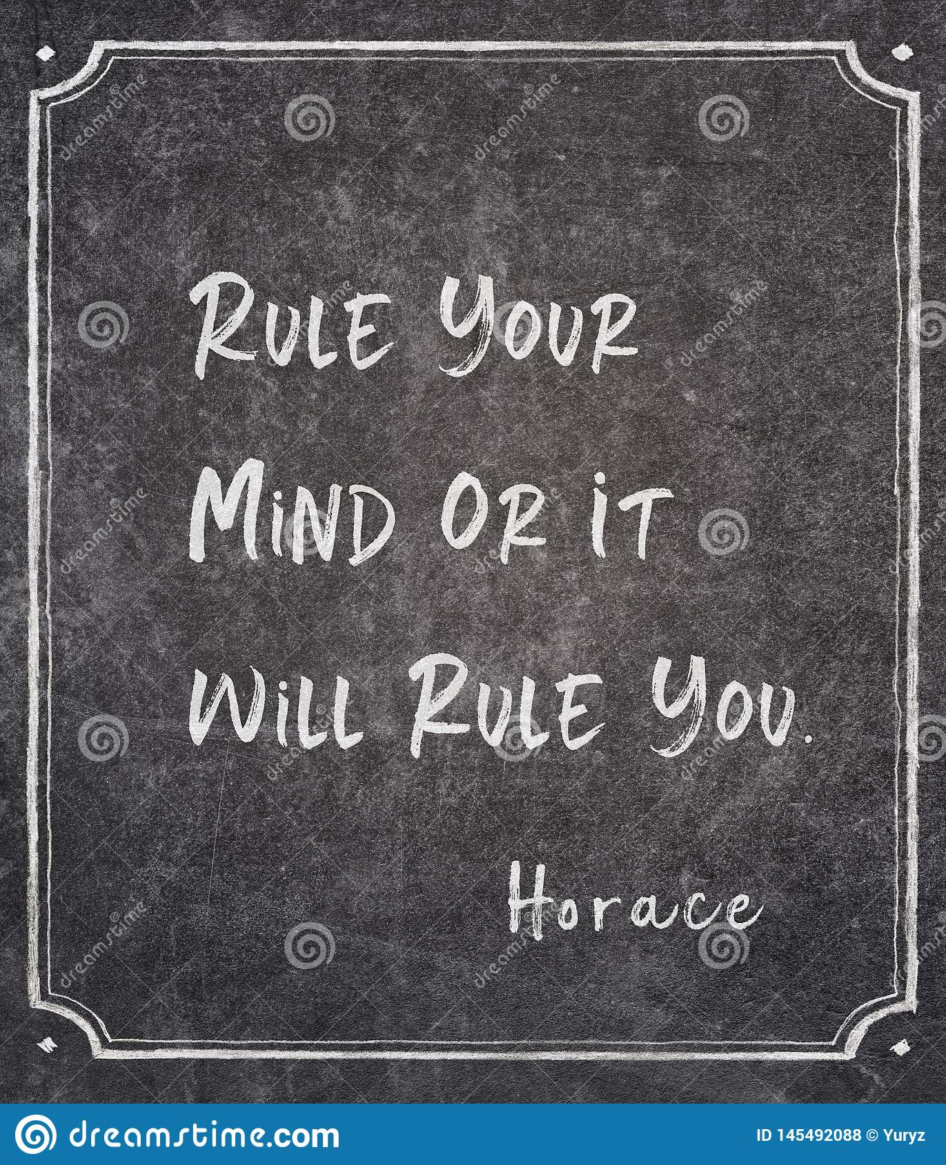 Rule you Horace quote