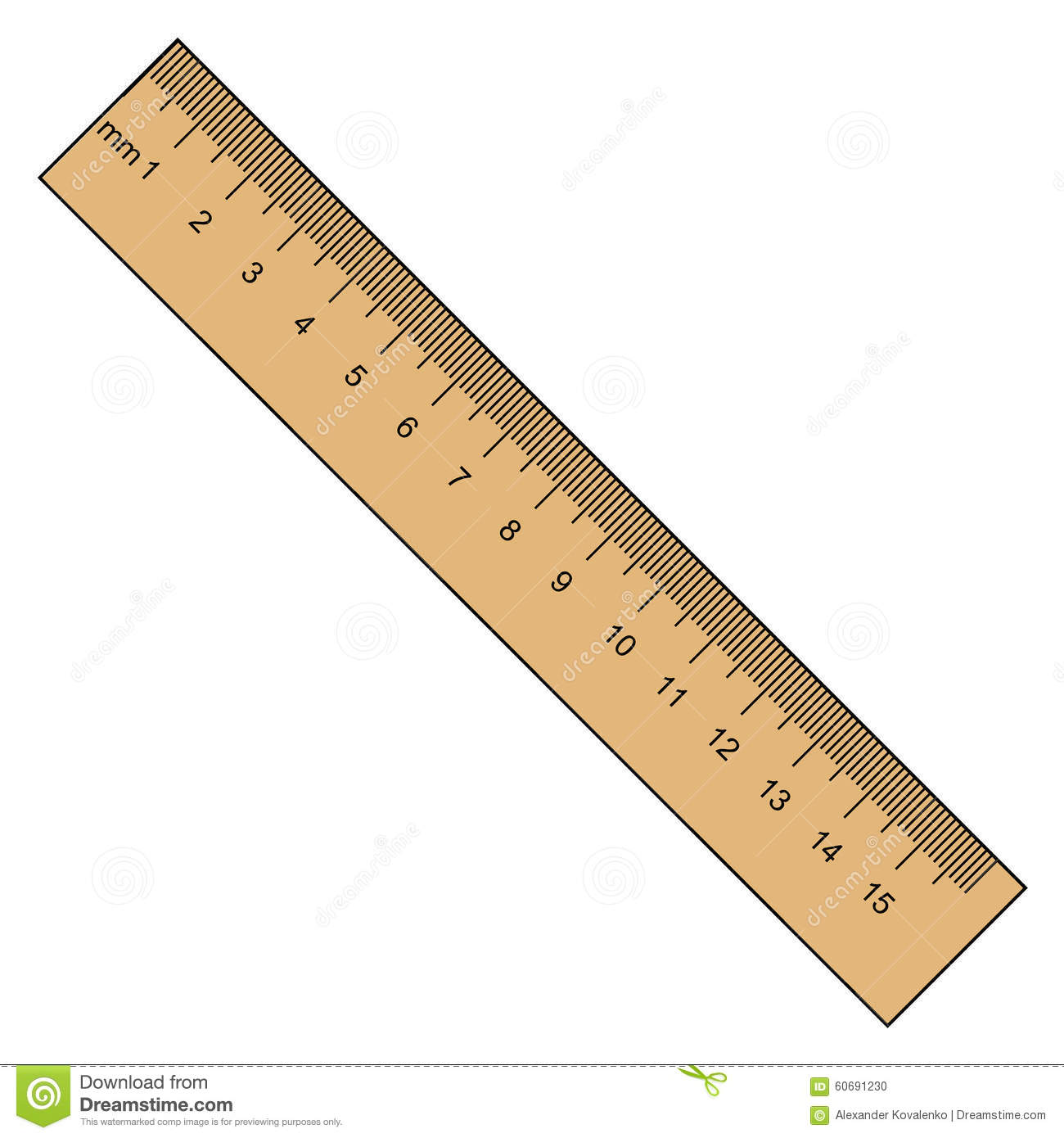 worksheet Ruler Measurement ruler instrument of measurement stock illustration image 60691230 measurement