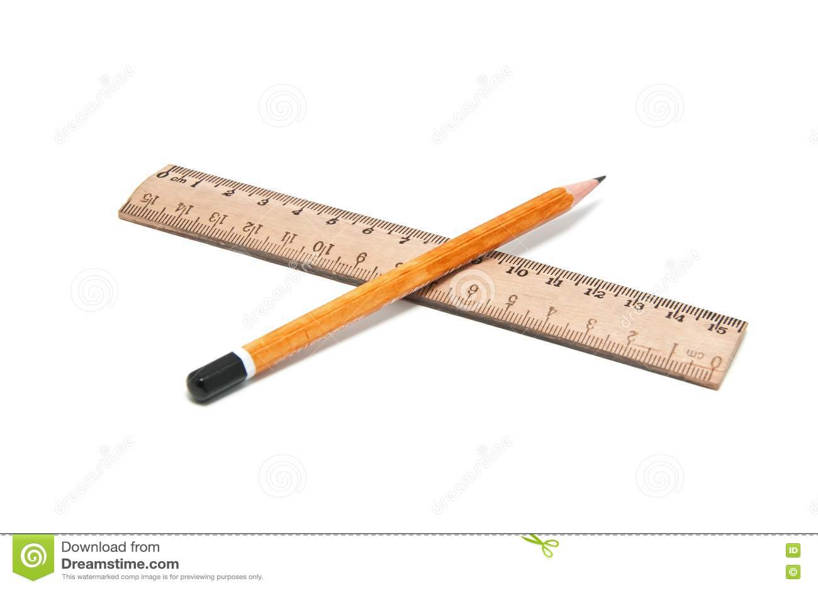Ruler And Pencil Stock Photos Image 17561103