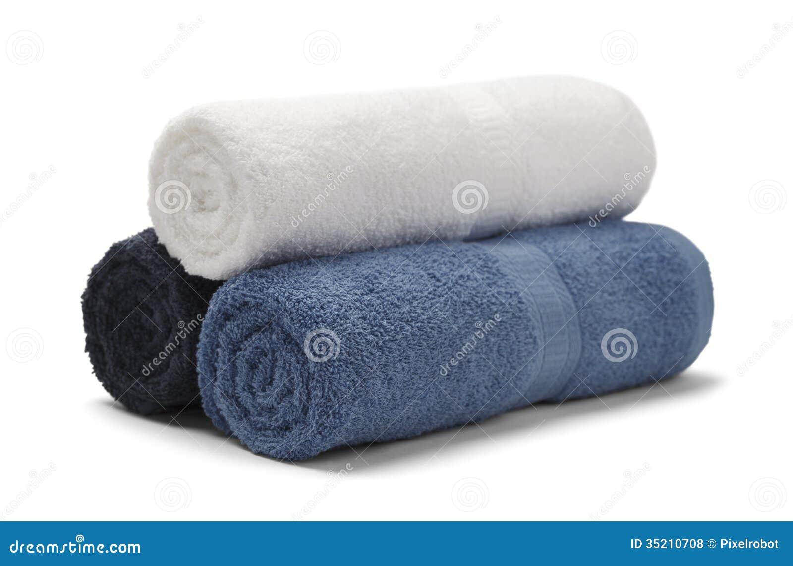 Rullande handdukar