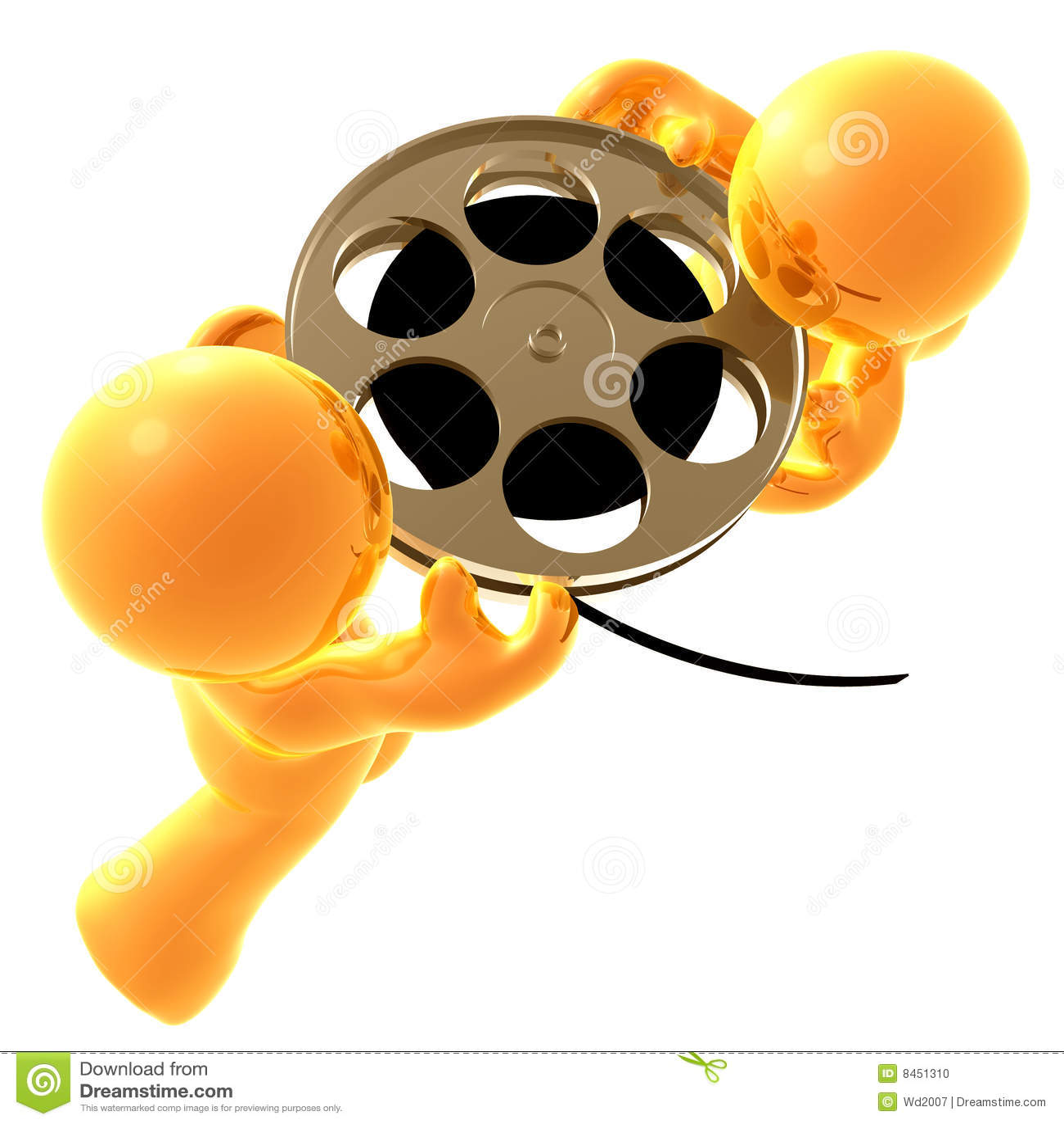 Rulle för symbol för filmgrabbholding