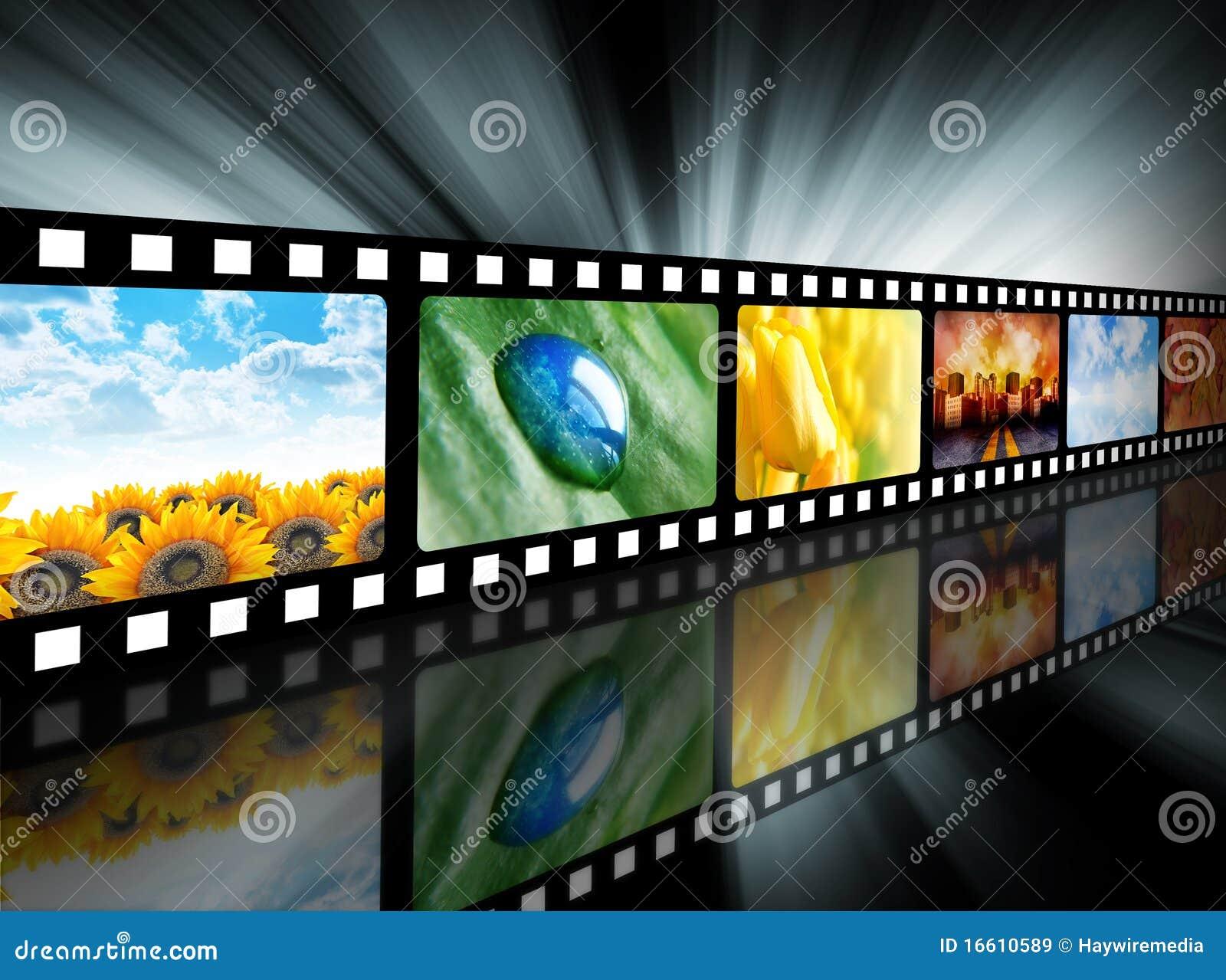 Rulle för underhållningfilmfilm