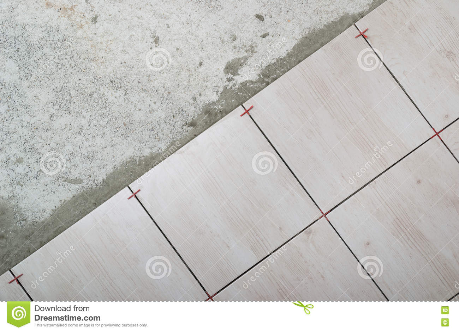 Rullo di vernice con i campioni della vernice installazione della