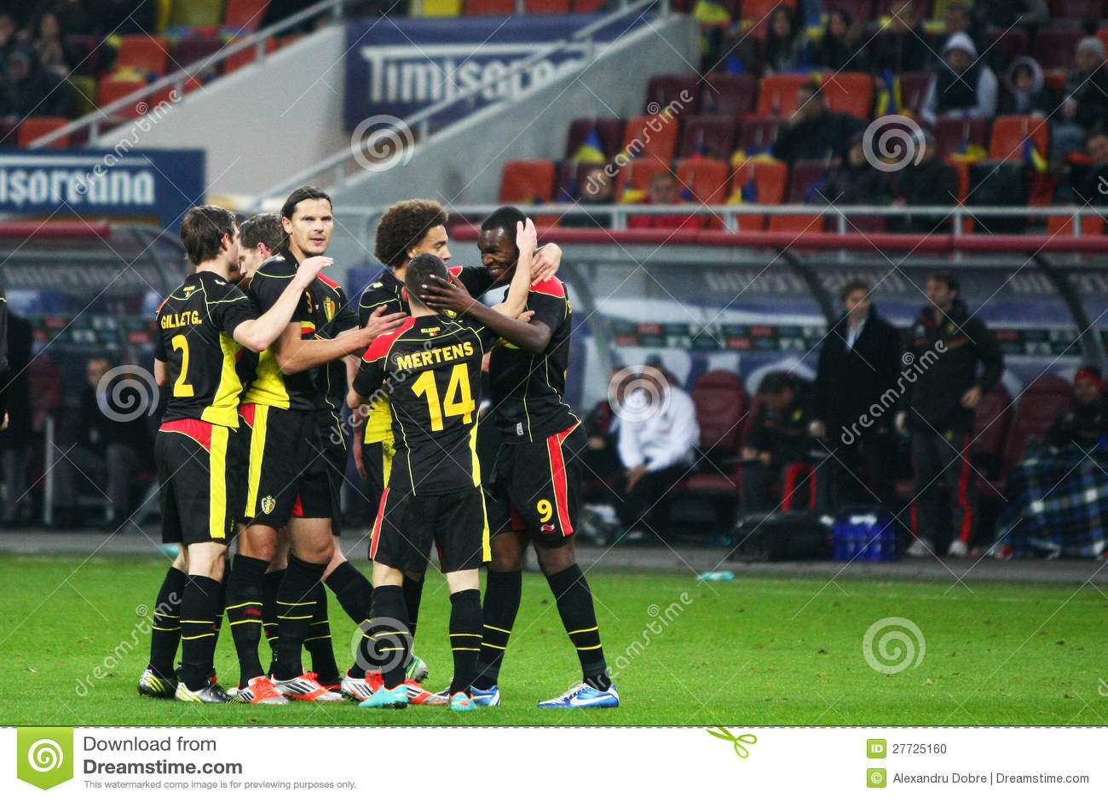 Rumänien Belgien