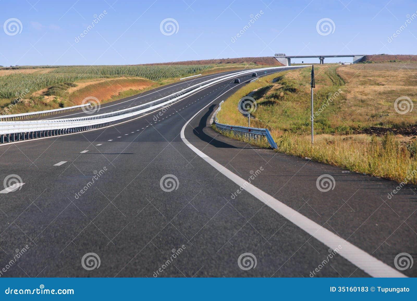 Rumänien motorway