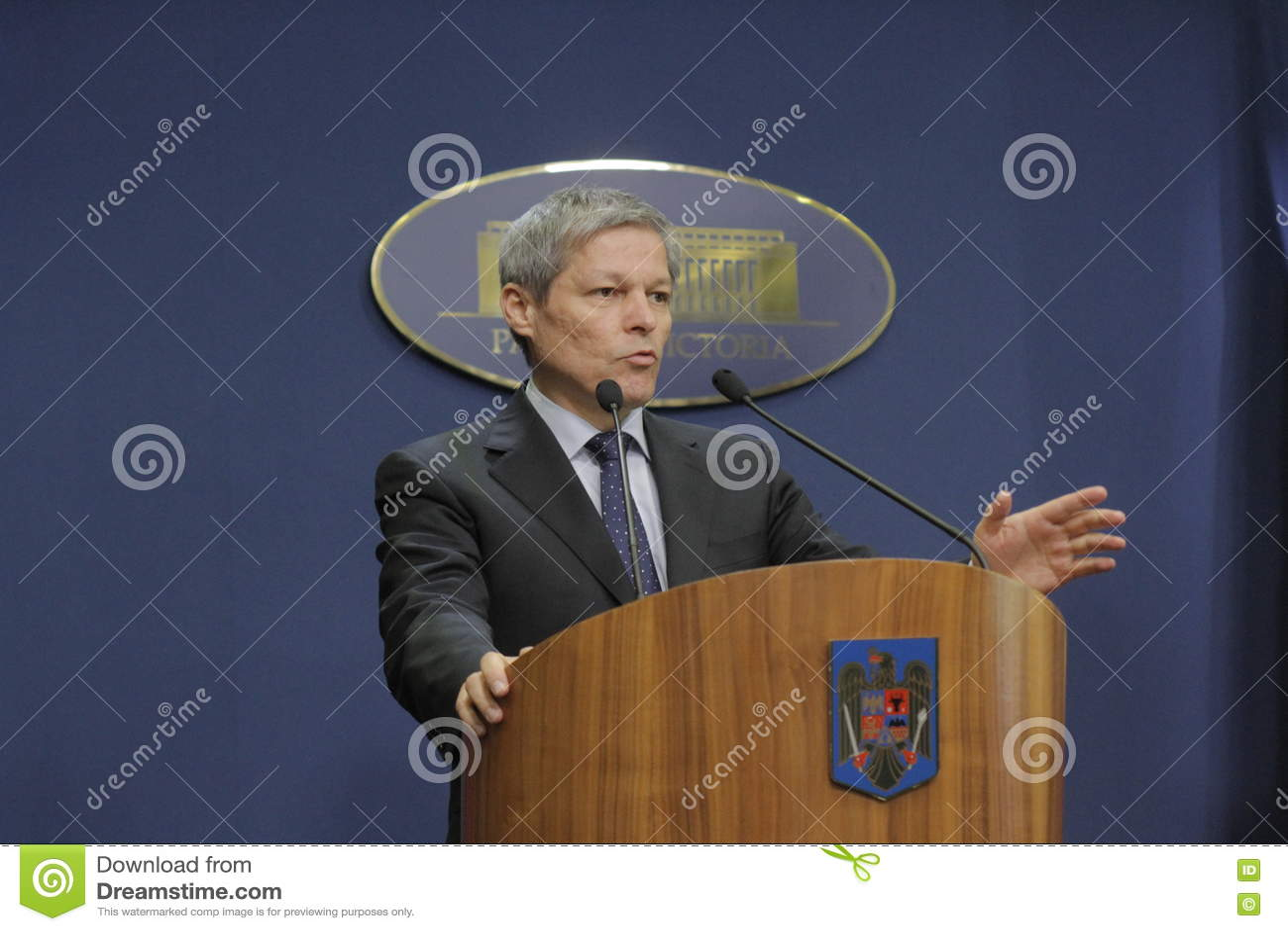 Rumänischer Premierminister Dacian Ciolos