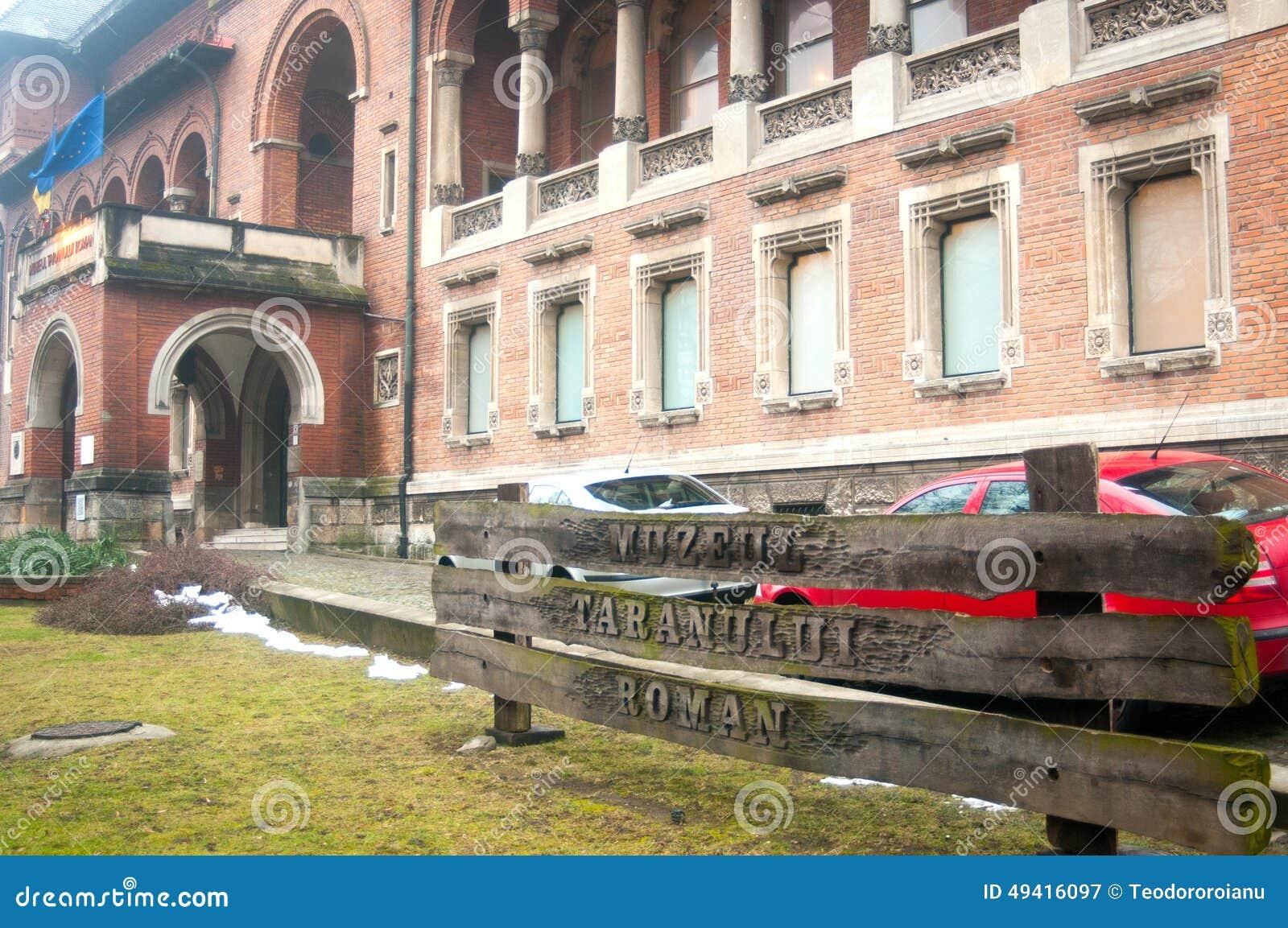 Download Rumänisches Nationales Ländliches Museum Redaktionelles Stockfotografie - Bild von tourismus, römisch: 49416097