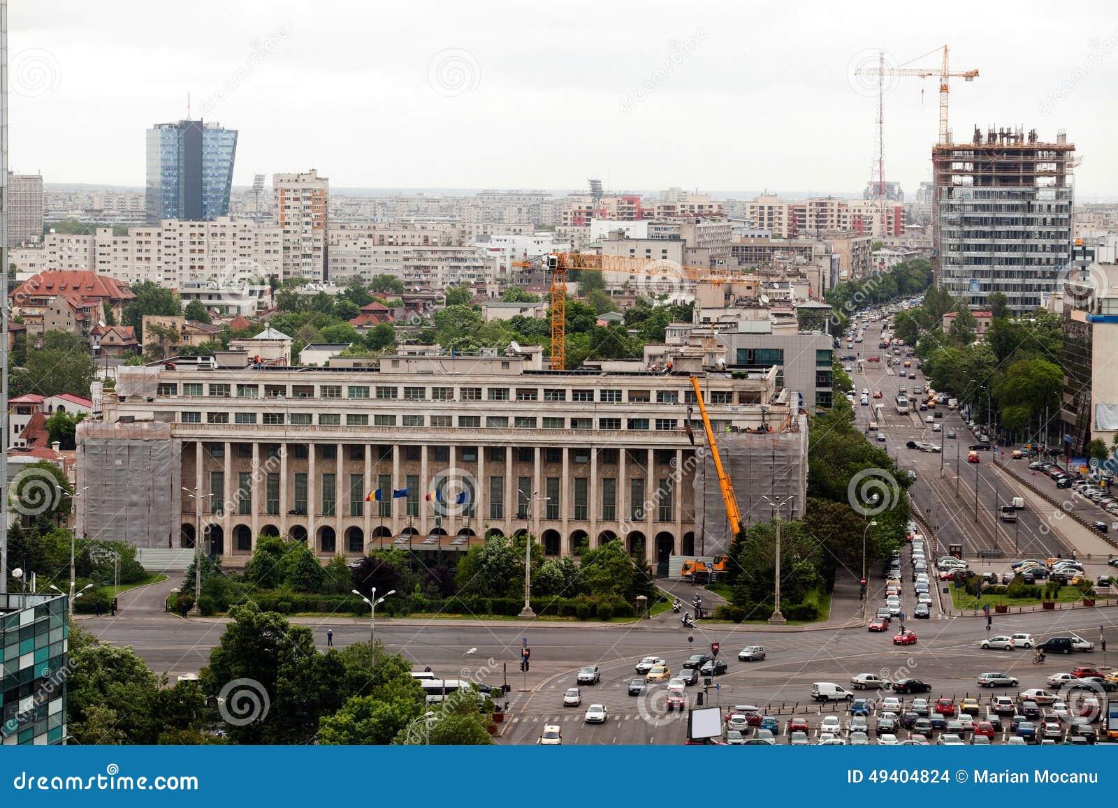 Download Rumänisches Regierungsgebäude Redaktionelles Stockbild - Bild von rumänisch, victoria: 49404824