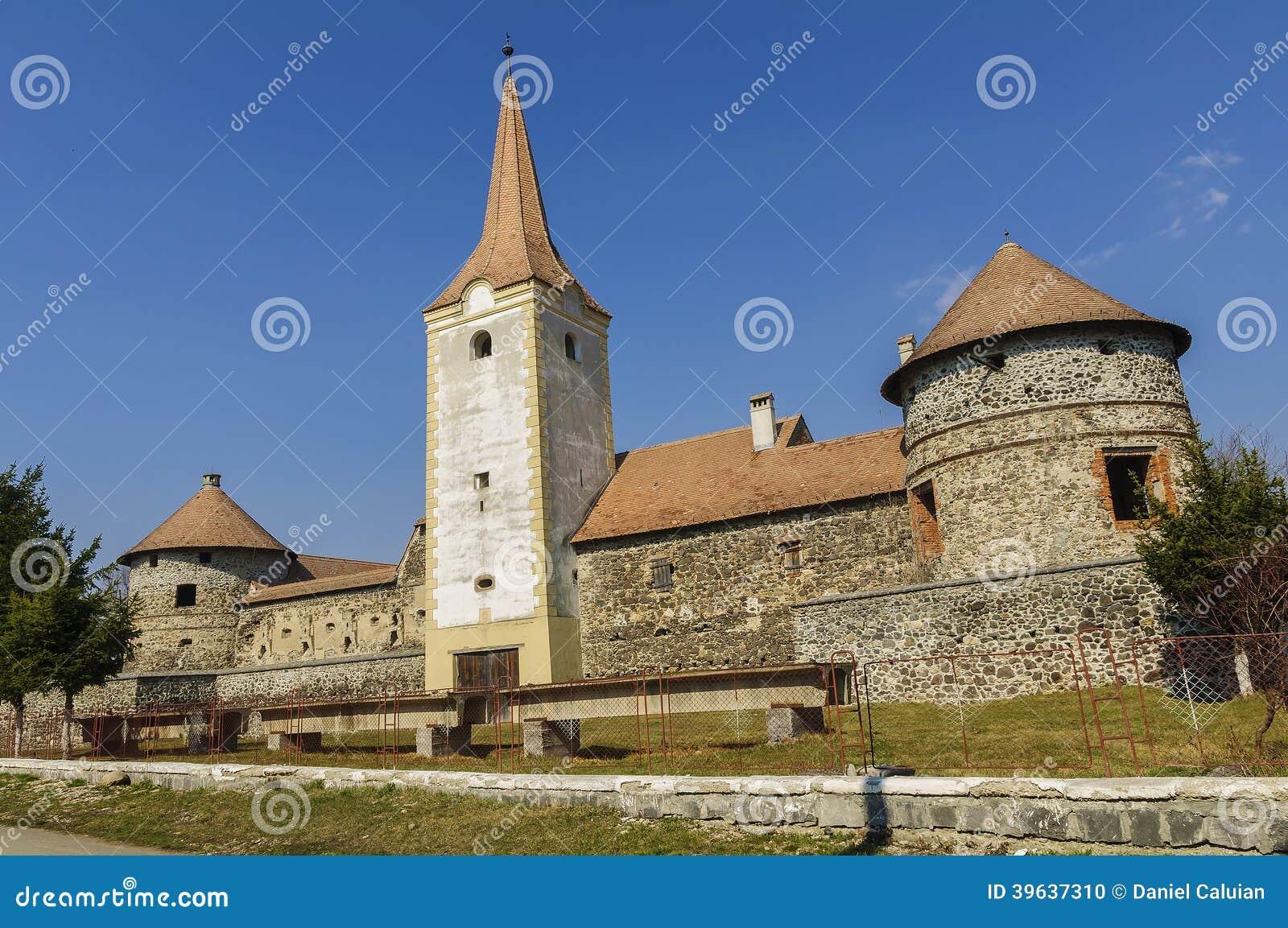 Rumänsk gammal slott