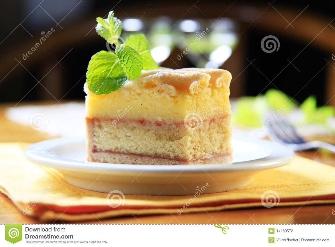 Rum Cake Stock Photography - Image: 14163572