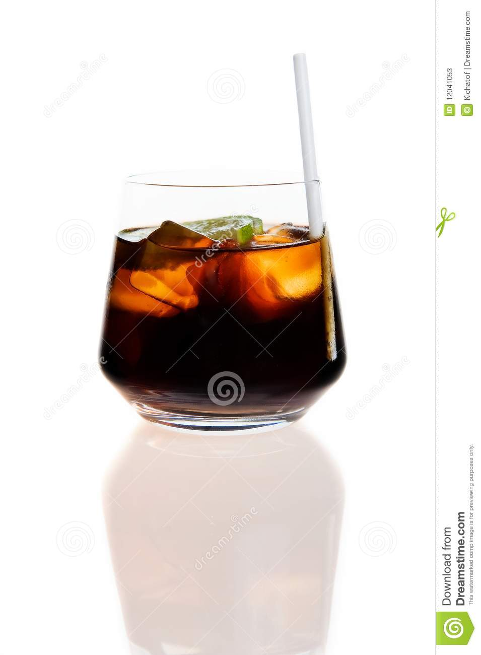 Rum coke stock image image of sparkling alcohol lime for White rum with coke