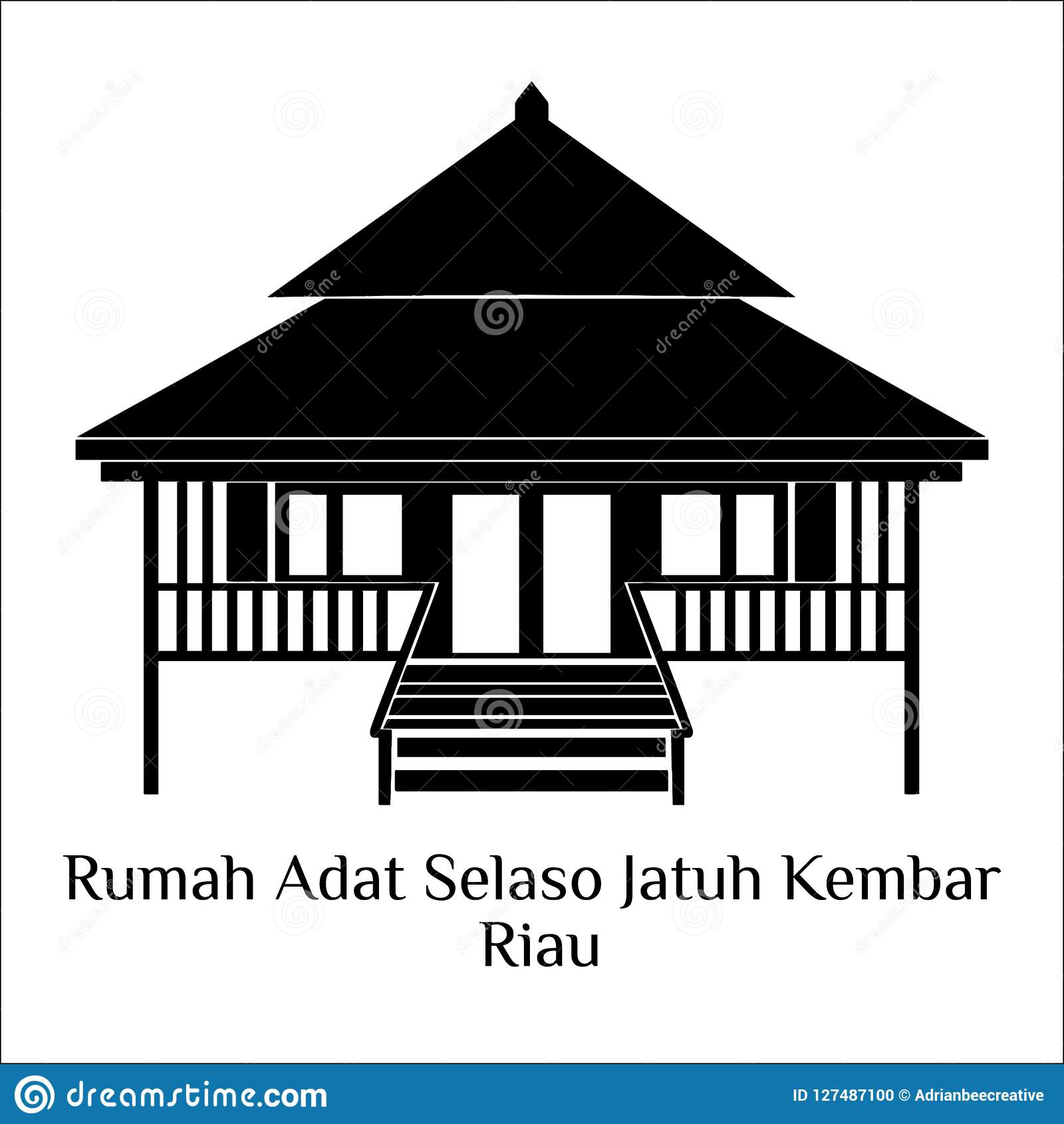 Rumah Adat Stock Illustrations – 6 Rumah Adat Stock