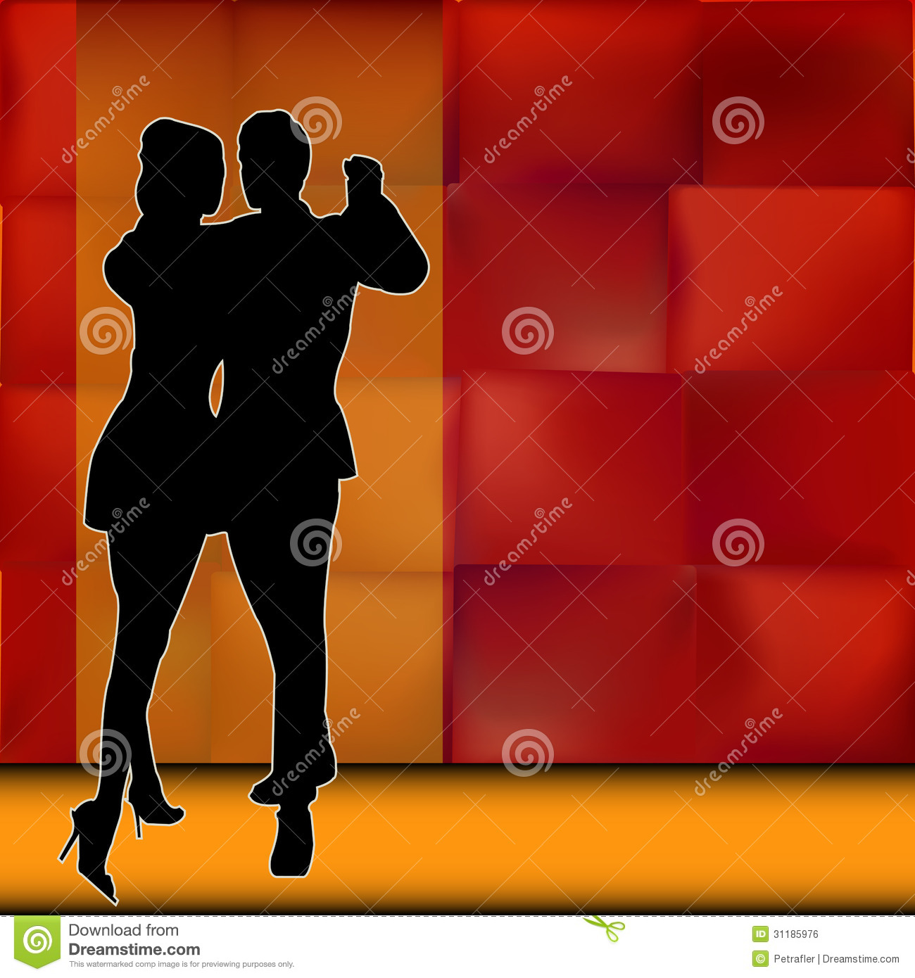 Rumba Background stock vector. Image of latin, party ...