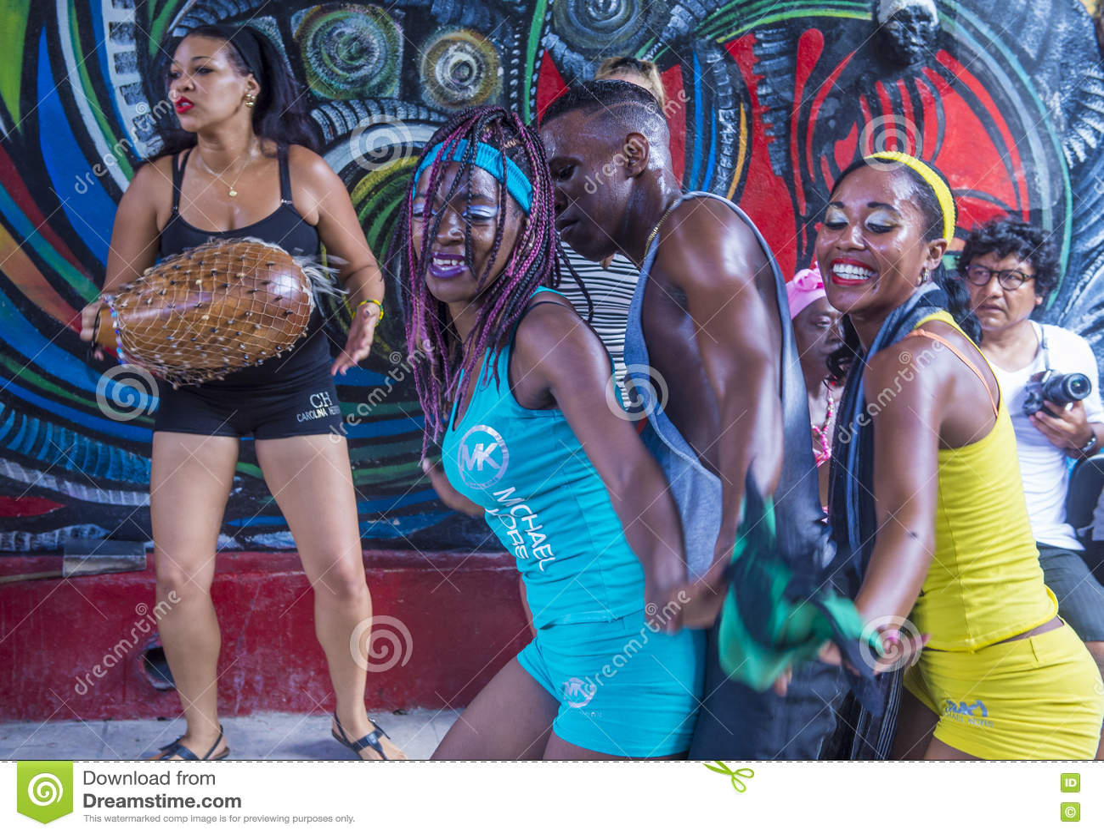 Rumba in Havana Cuba editorial photo  Image of drummer