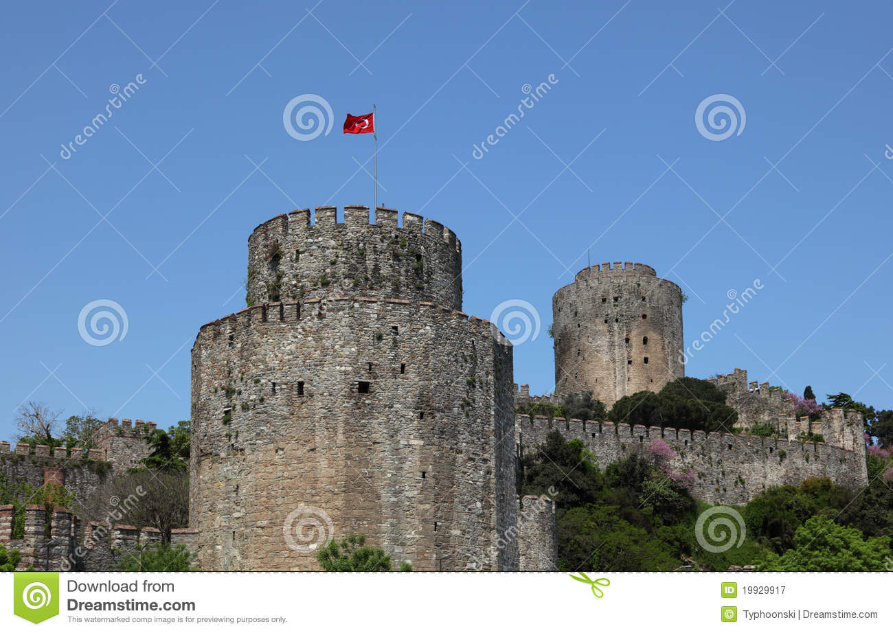 Rumeli Fortress, Istanbul Royalty Free Stock Photography ...