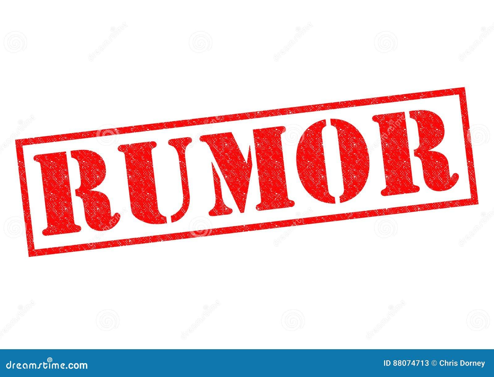 RUMOR stock illustration. Illustration of gossip, rumors ...