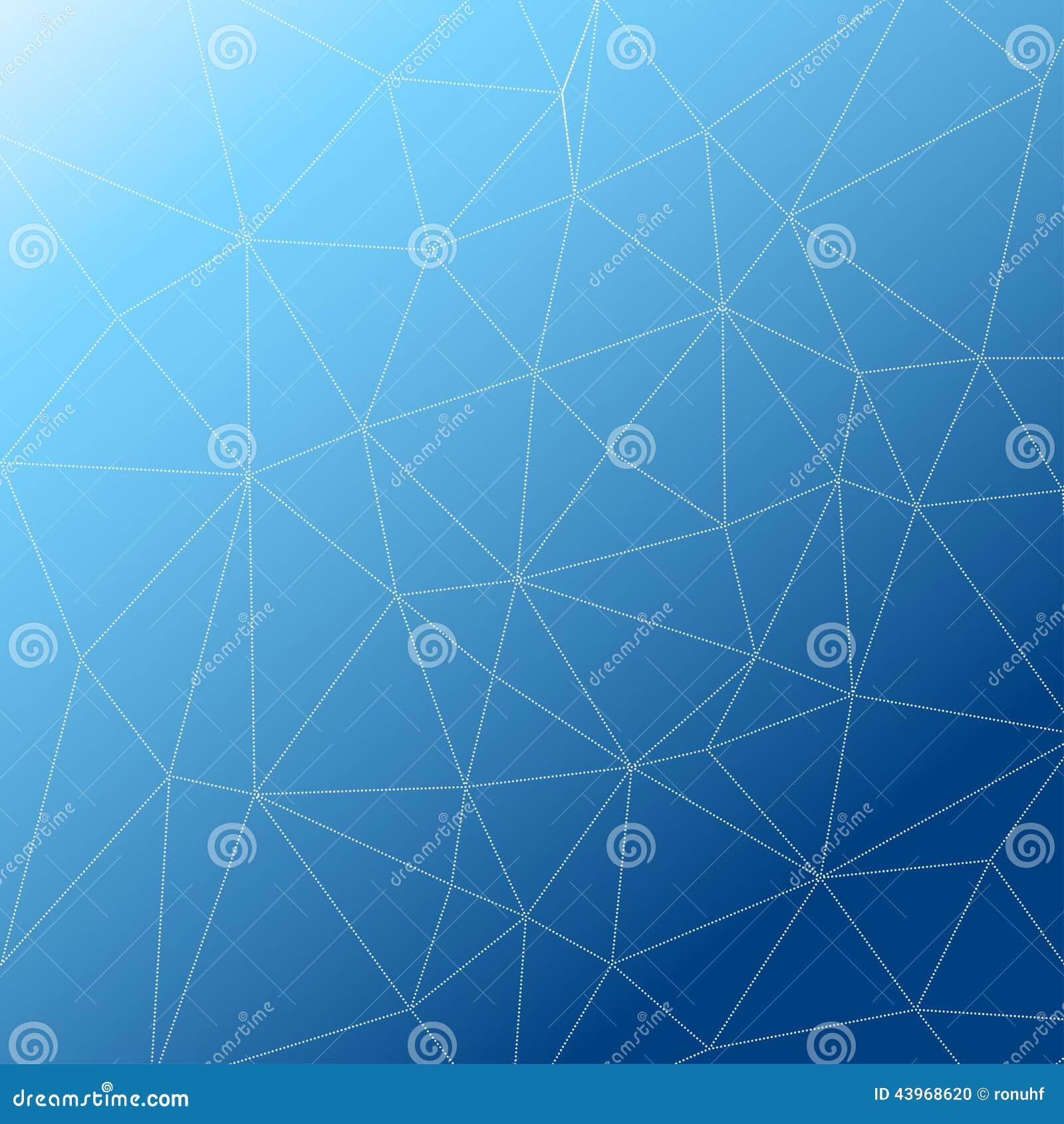 Rumpled multiplayered il fondo geometrico di struttura del modello di poli stile basso triangolare