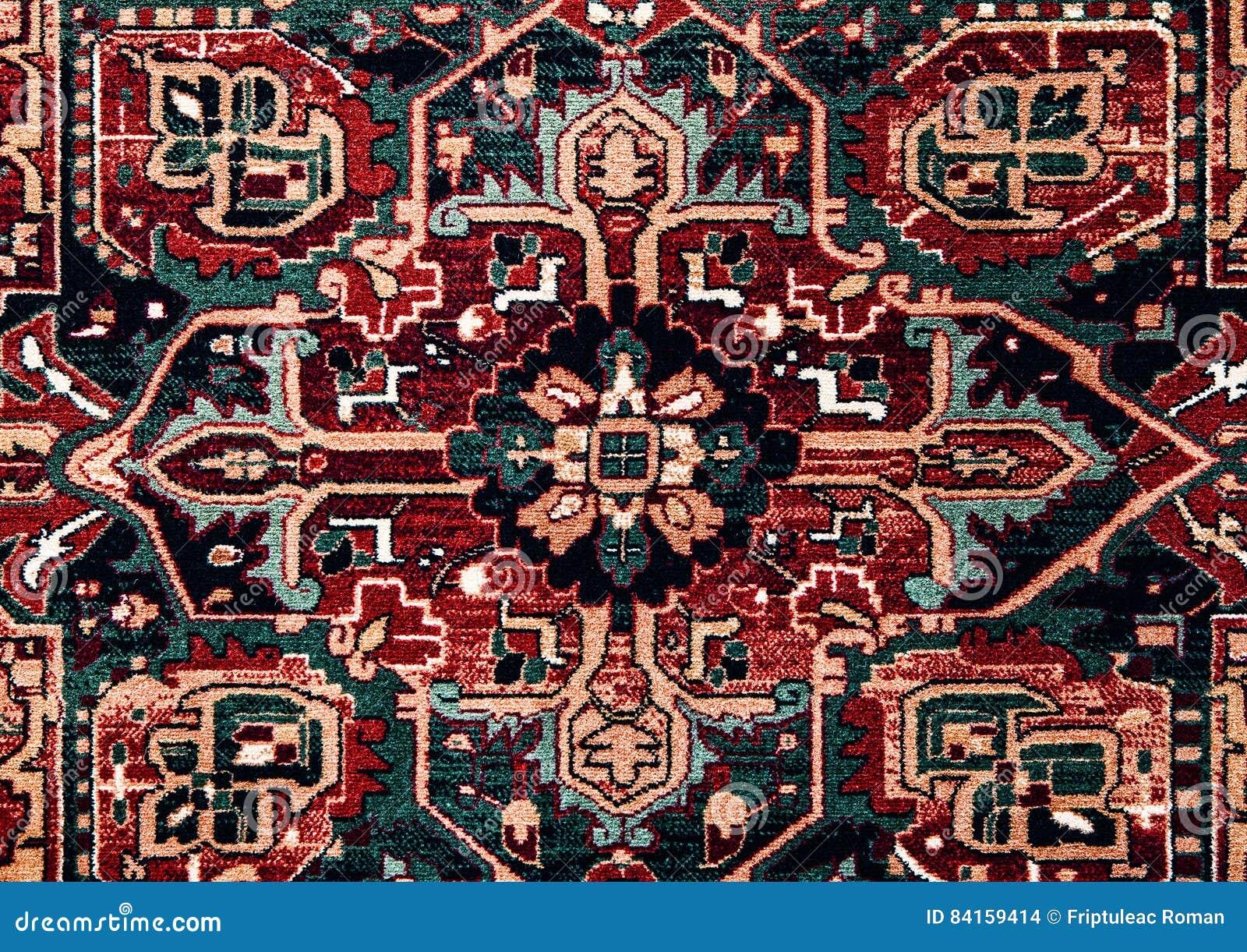 Rumuńscy ludowi bezszwowi wzorów ornamenty Rumuńska tradycyjna broderia Tekstura etniczny projekt Tradycyjny dywanowy projekt Car