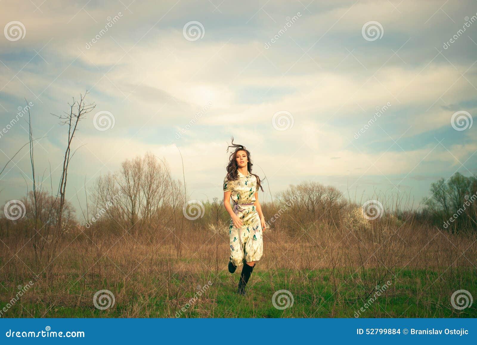 Run across the field