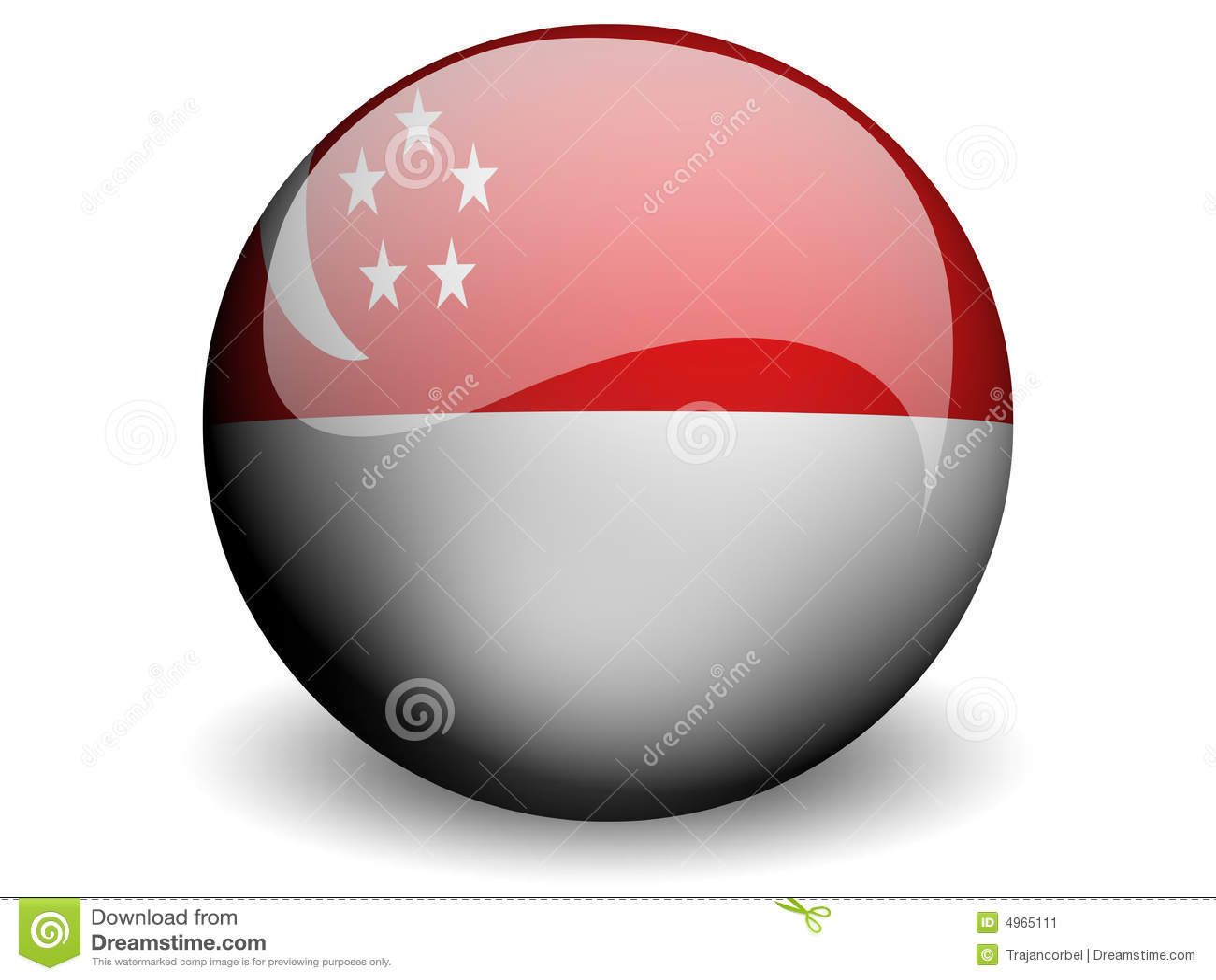 Runda Singapore bandery