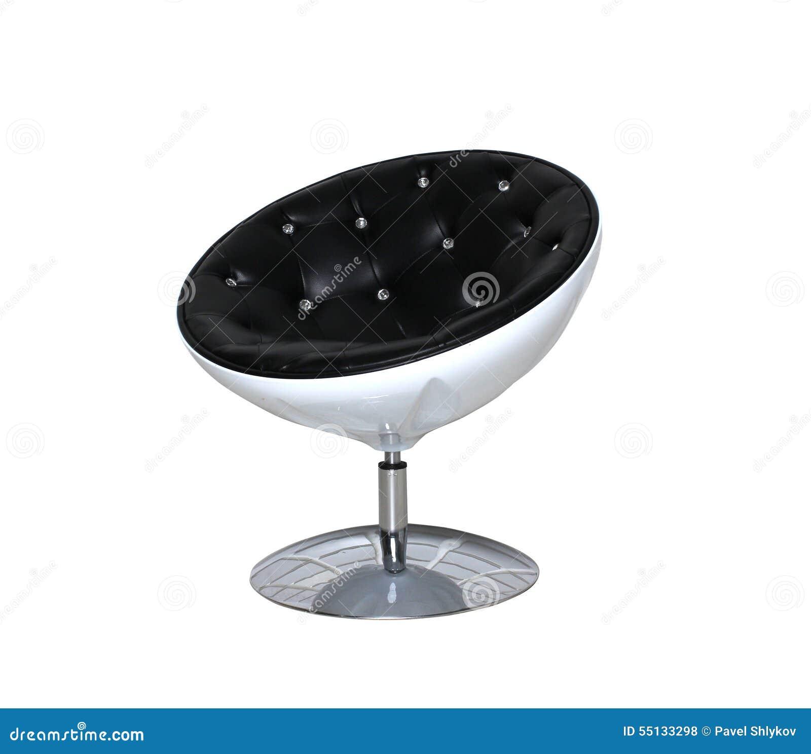 Runder Stuhl Der Modernen Möbel Lokalisiert Stockfoto - Bild von ...