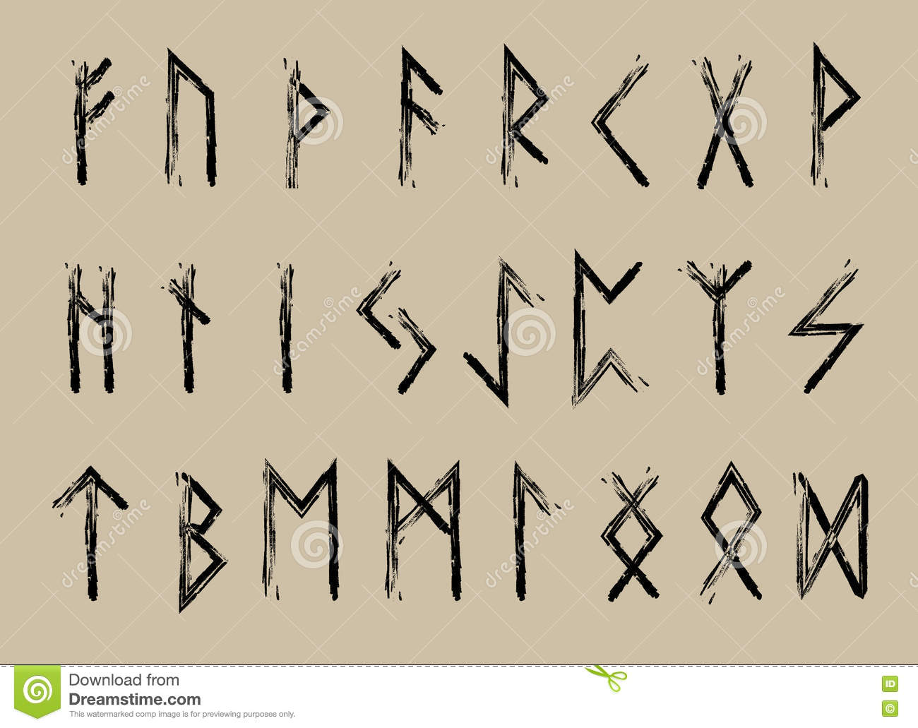 Alphabet Runes rune set of letters, runes alphabet. runic alphabet. writing ancient
