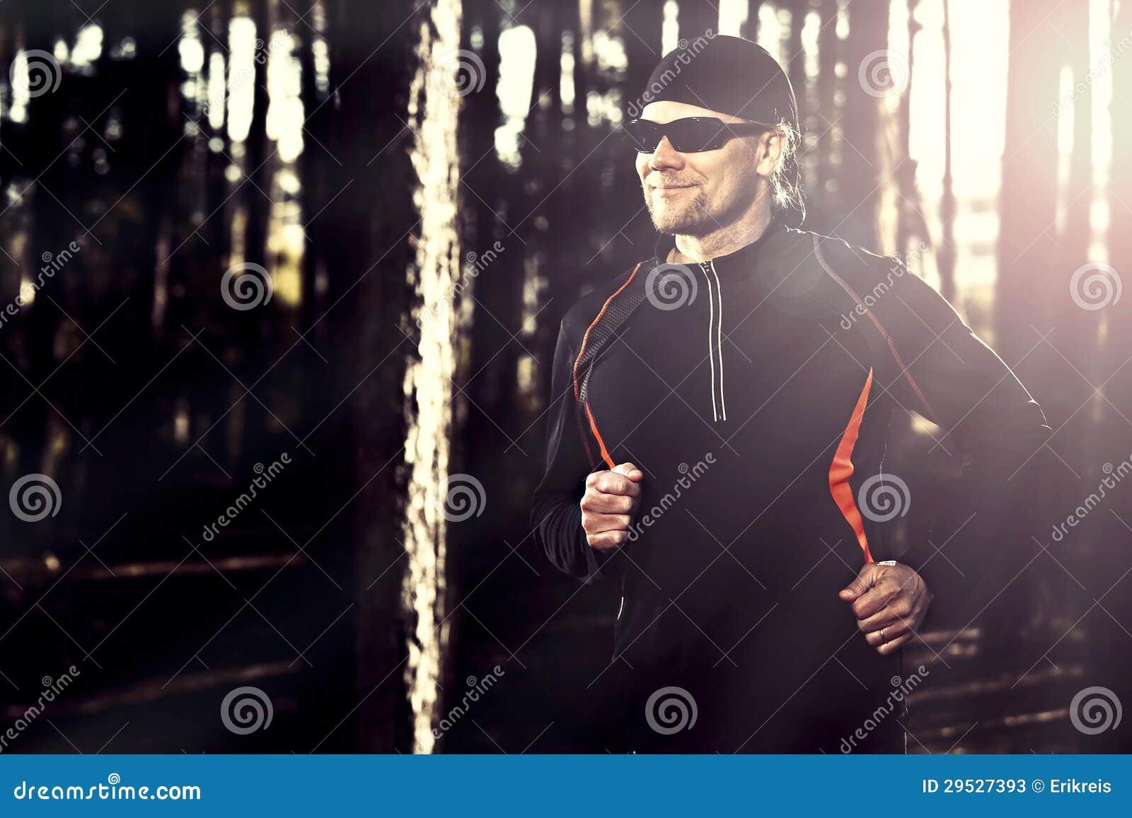 Runing na floresta