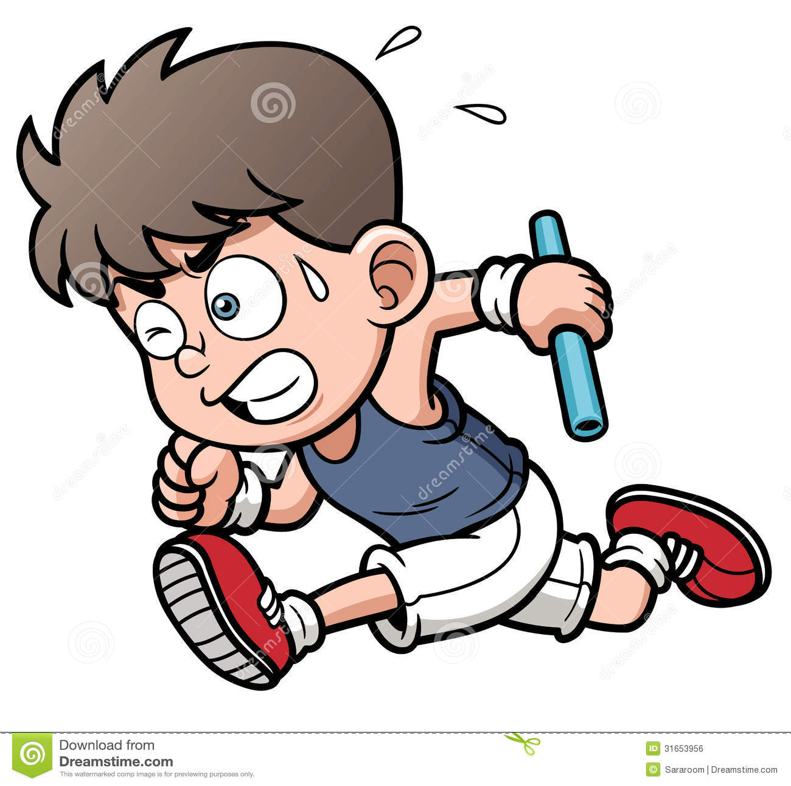 runner boy royalty free stock image   image 31653956
