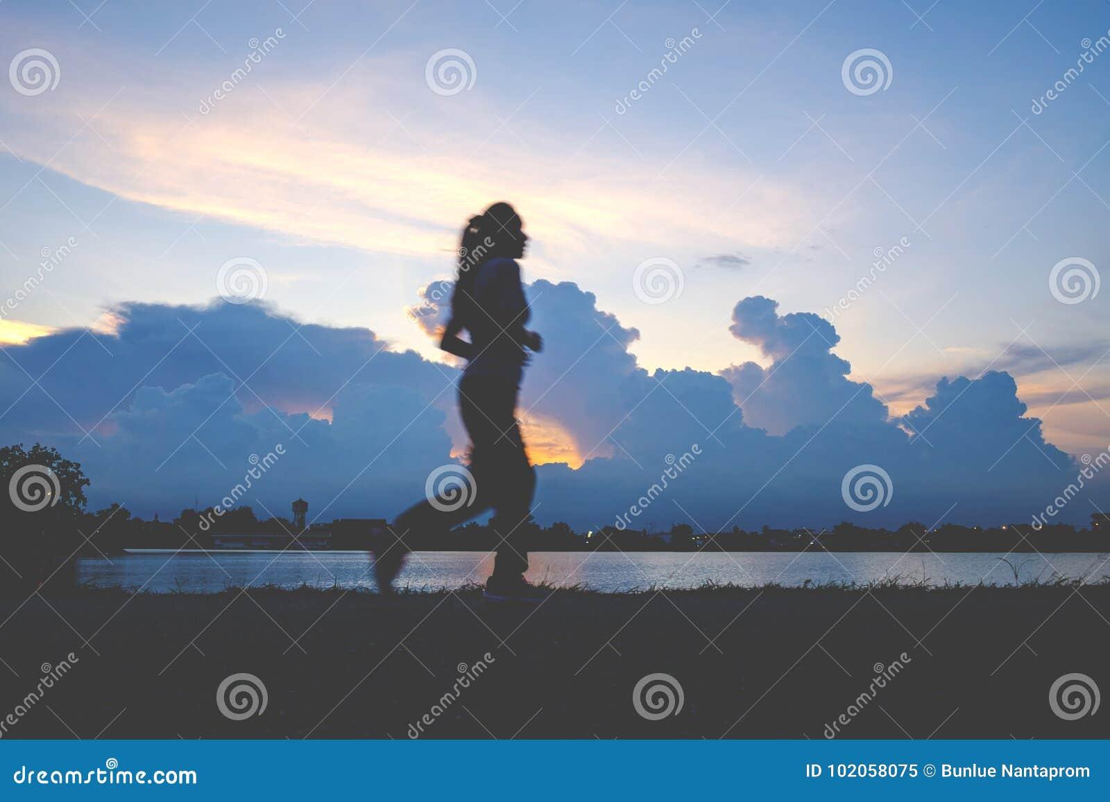 Runner`s Feet, Motion Blurred runner closeup shot runner runnin