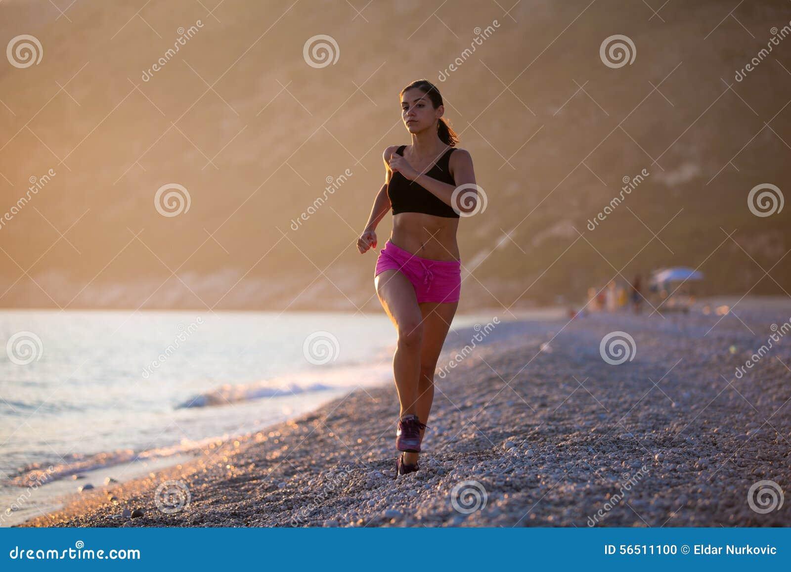 Woman Runner Marathon Running Training Endurance Sports ...